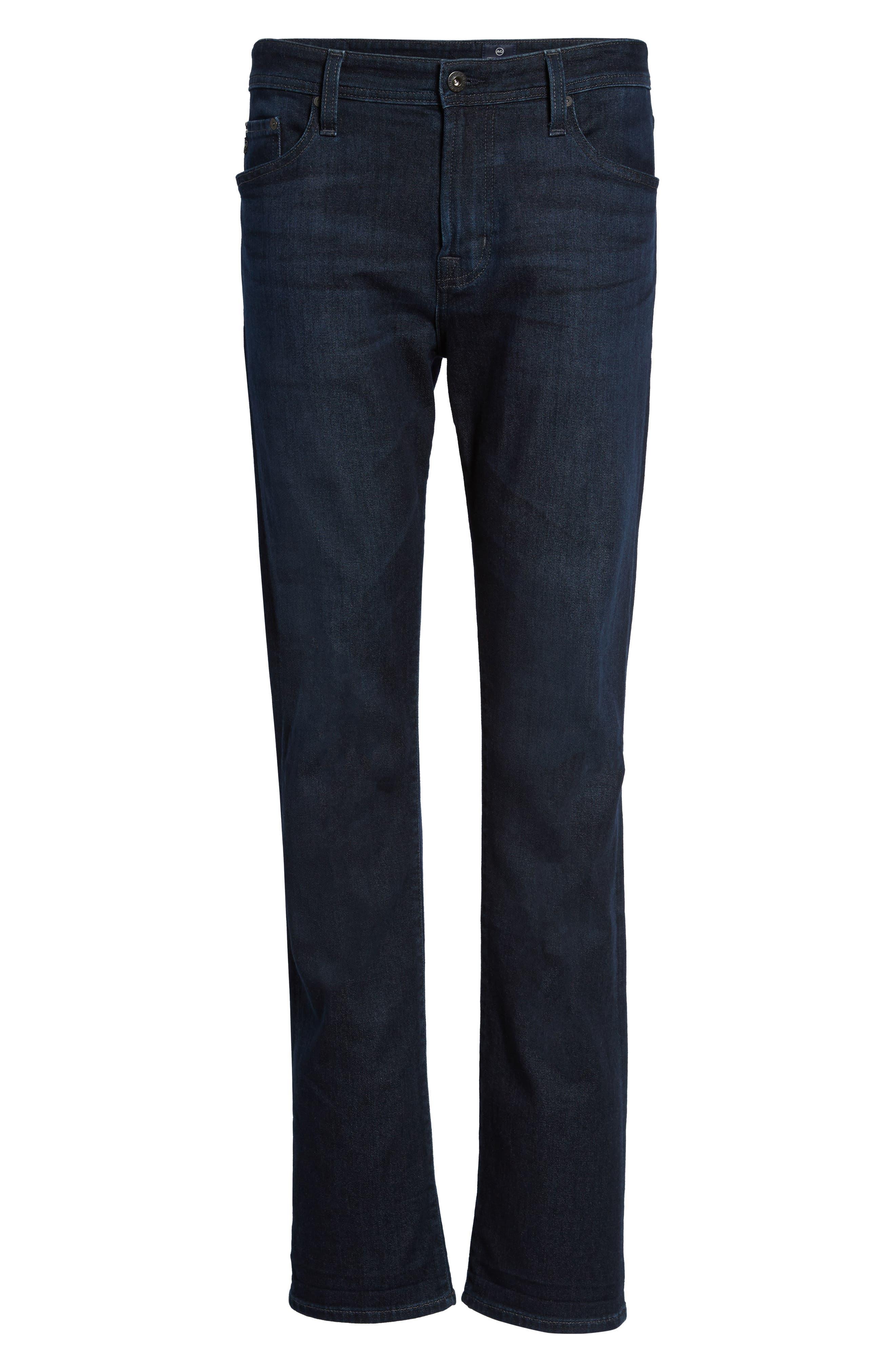 Everett Slim Straight Fit Jeans,                             Alternate thumbnail 6, color,                             Regulator