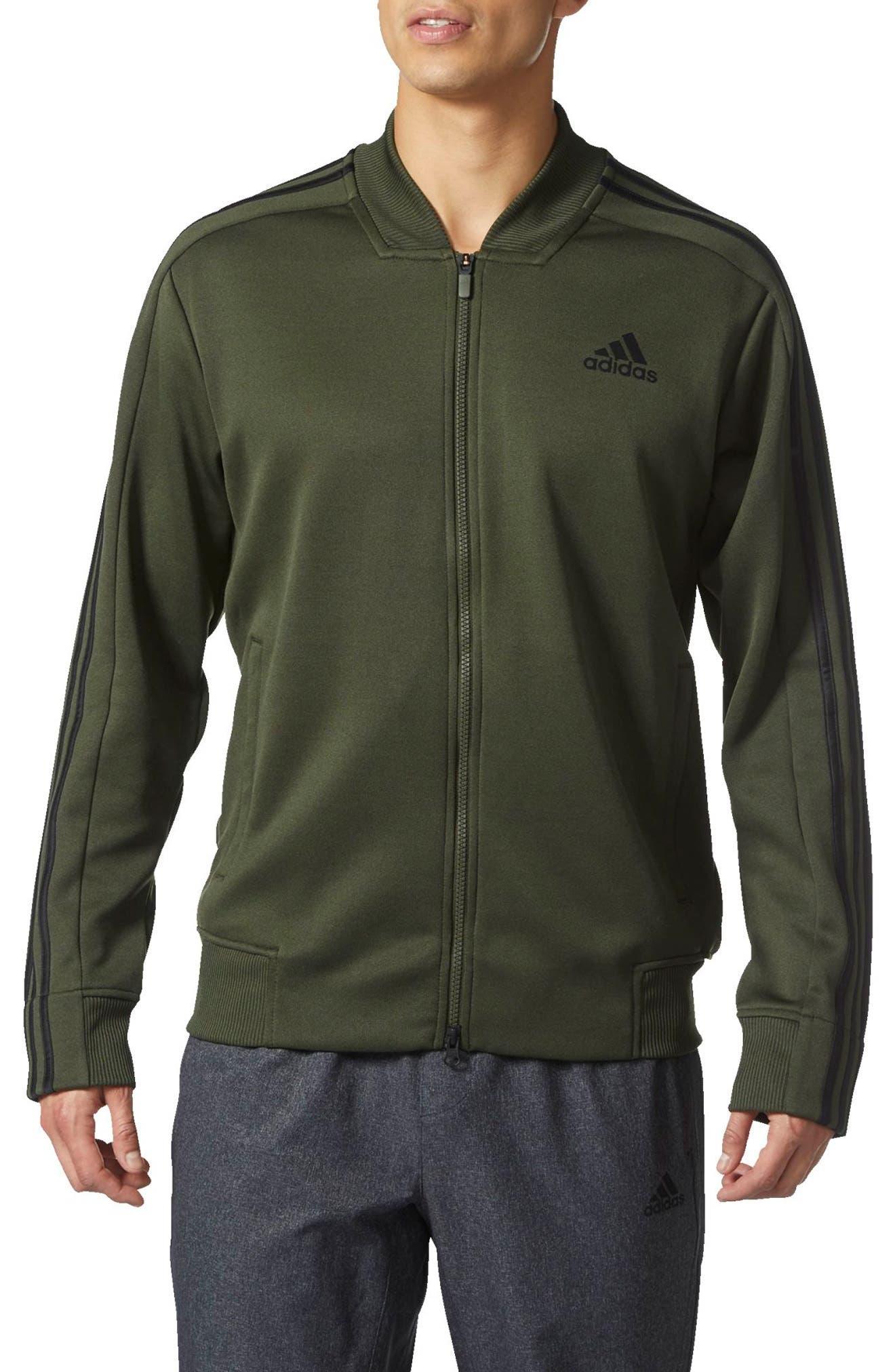 Alternate Image 1 Selected - adidas Sport ID Track Bomber Jacket