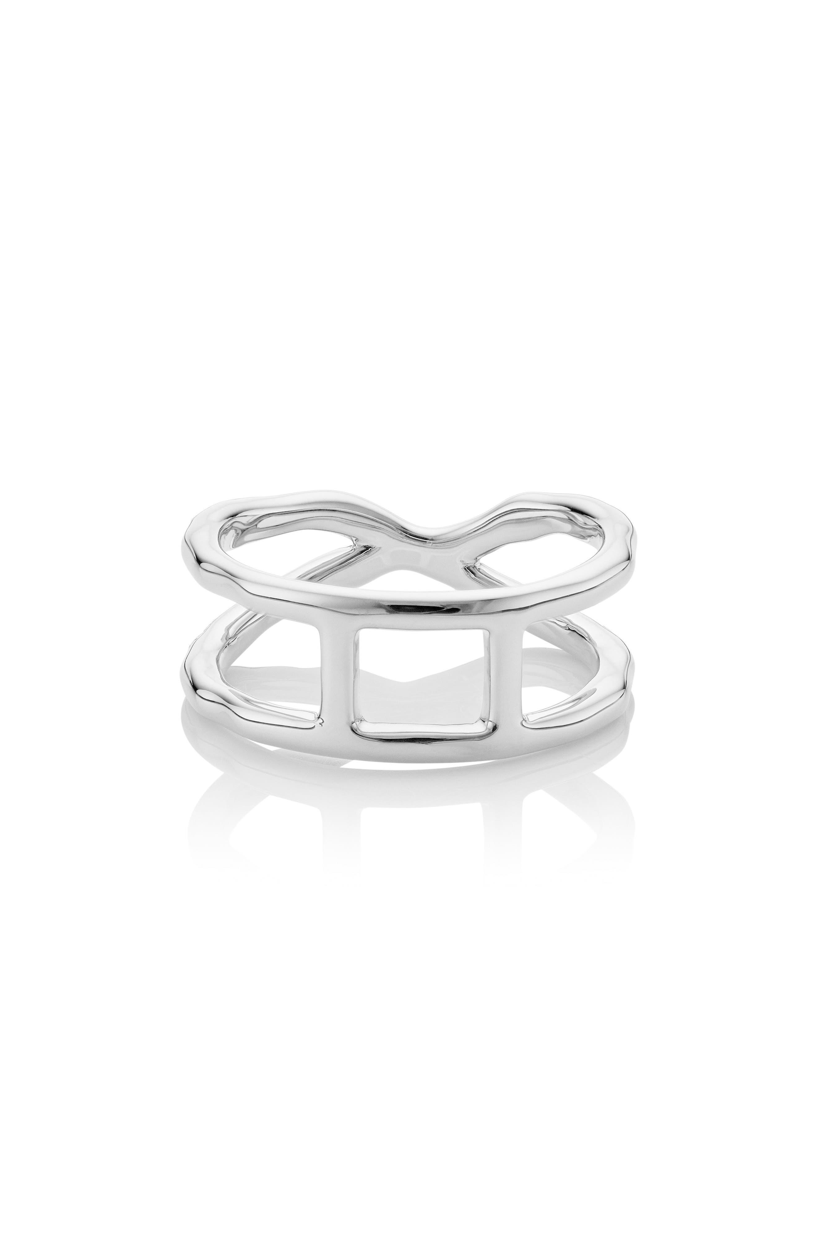 Riva Diamond Ring,                             Alternate thumbnail 2, color,                             Silver/ Diamond