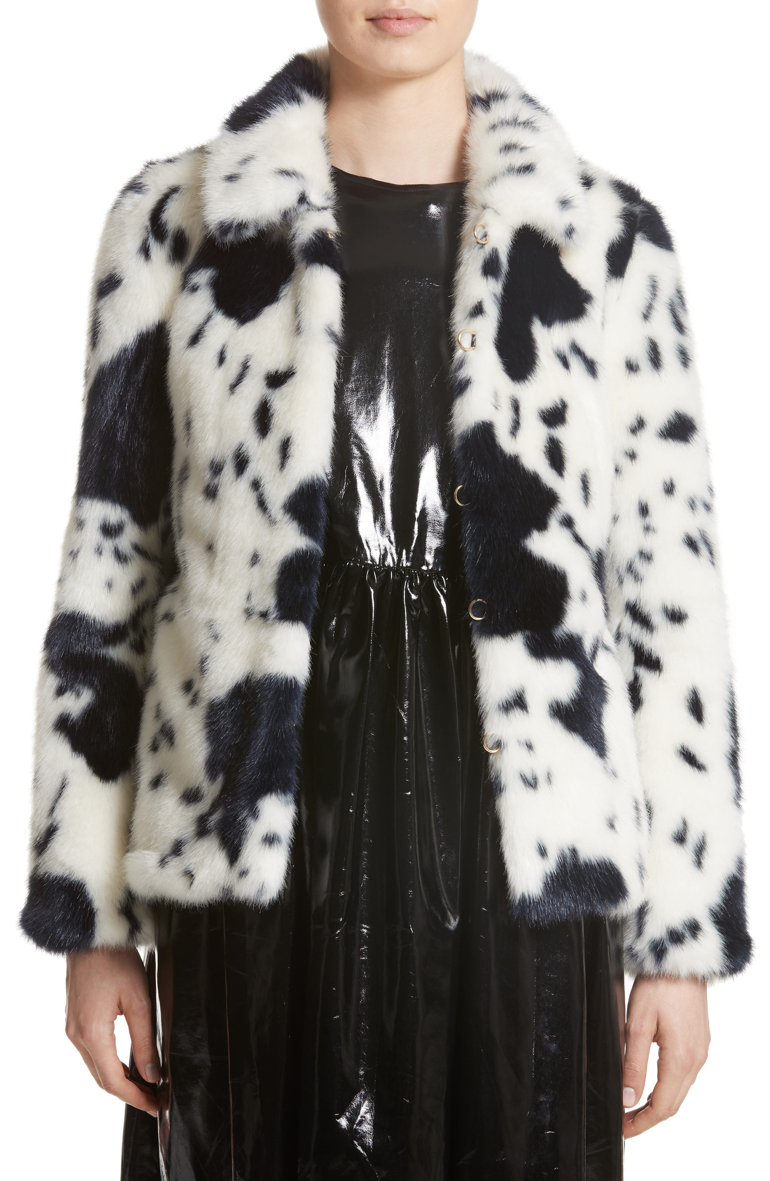 Shrimps Alba Faux Fur Jacket
