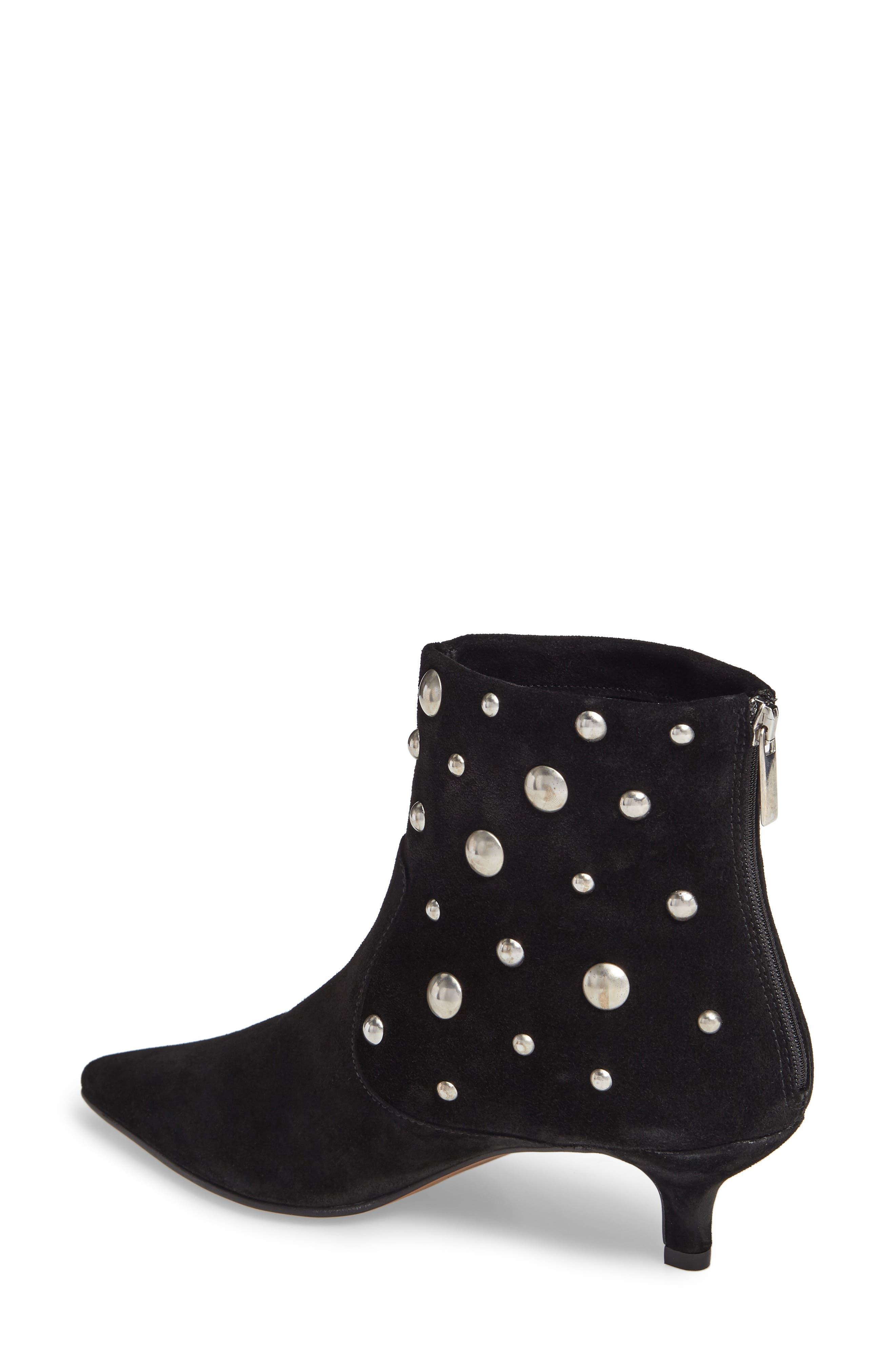 Alternate Image 2  - Topshop Ascot Studded Pointy Toe Bootie (Women)