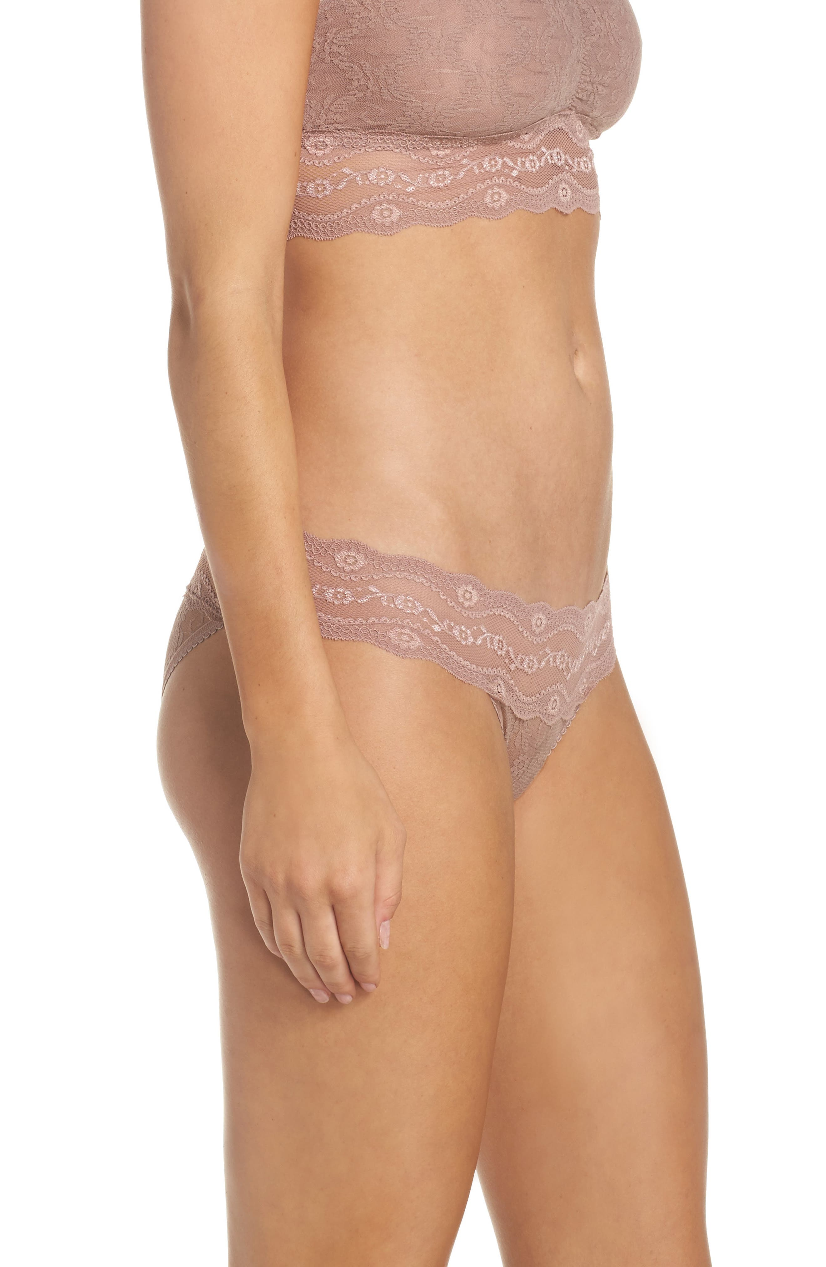 Alternate Image 3  - b.tempt'd by Wacoal 'Lace Kiss' Bikini (3 for $33)