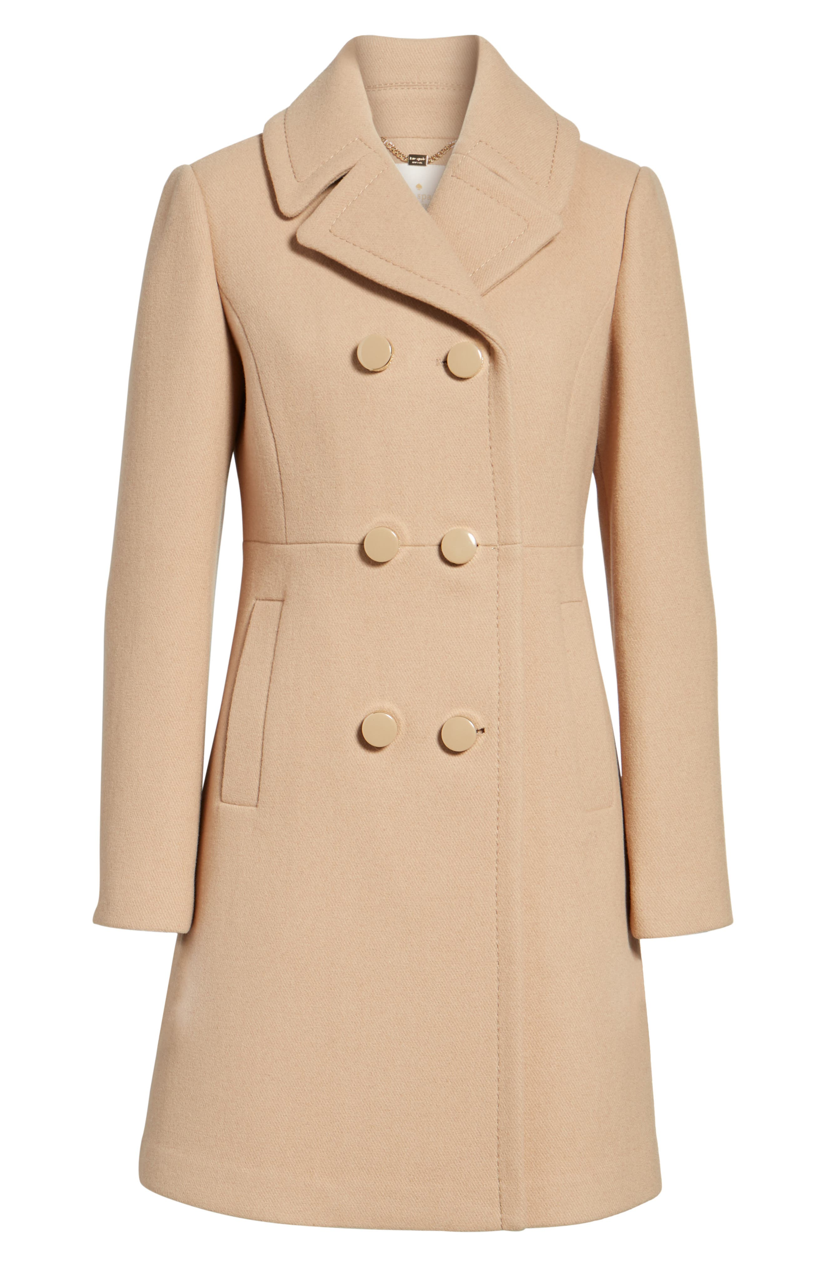 Alternate Image 5  - kate spade new york double breasted coat