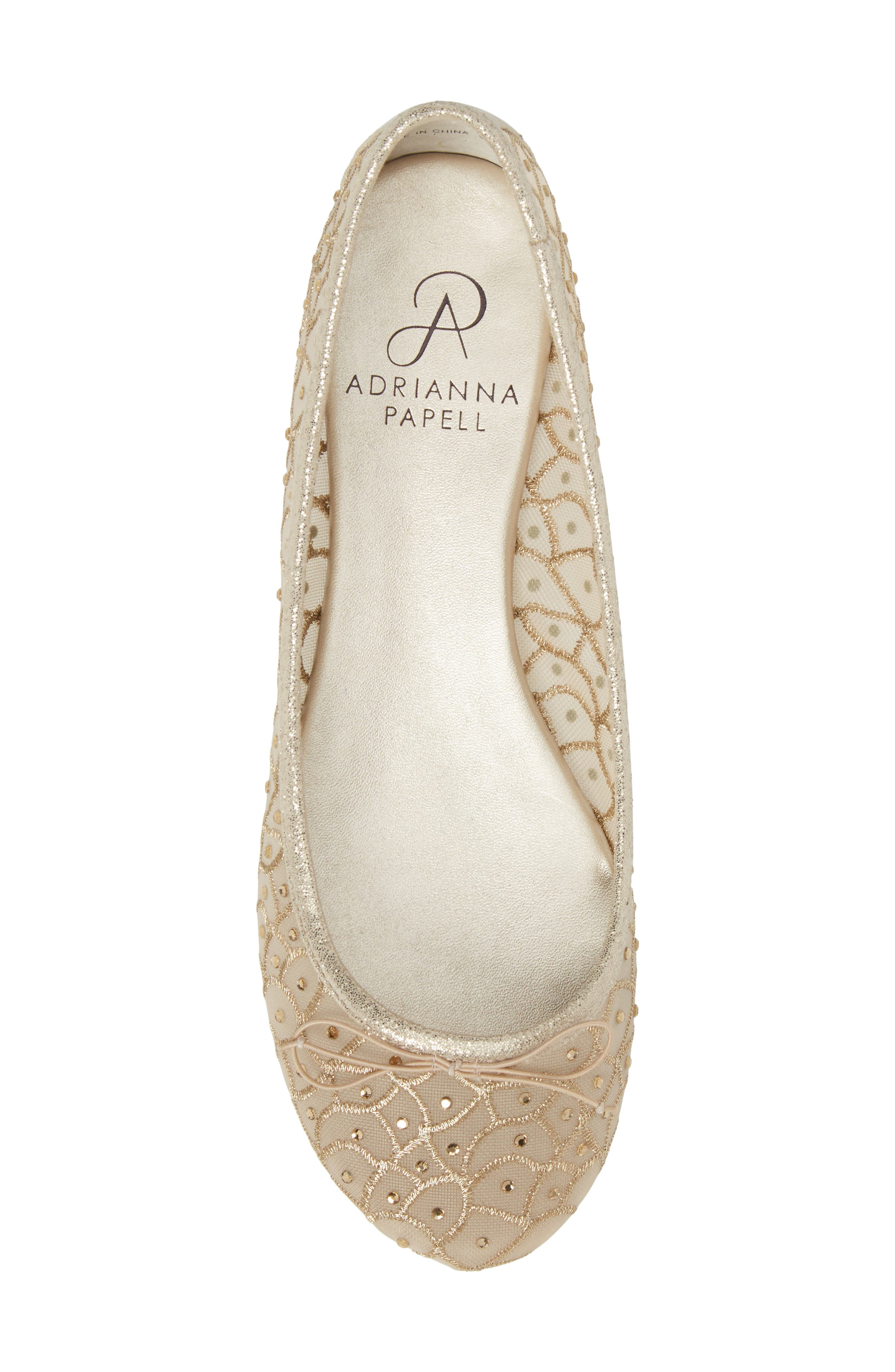 Alternate Image 5  - Adrianna Papell Natalia Ballet Flat (Women)