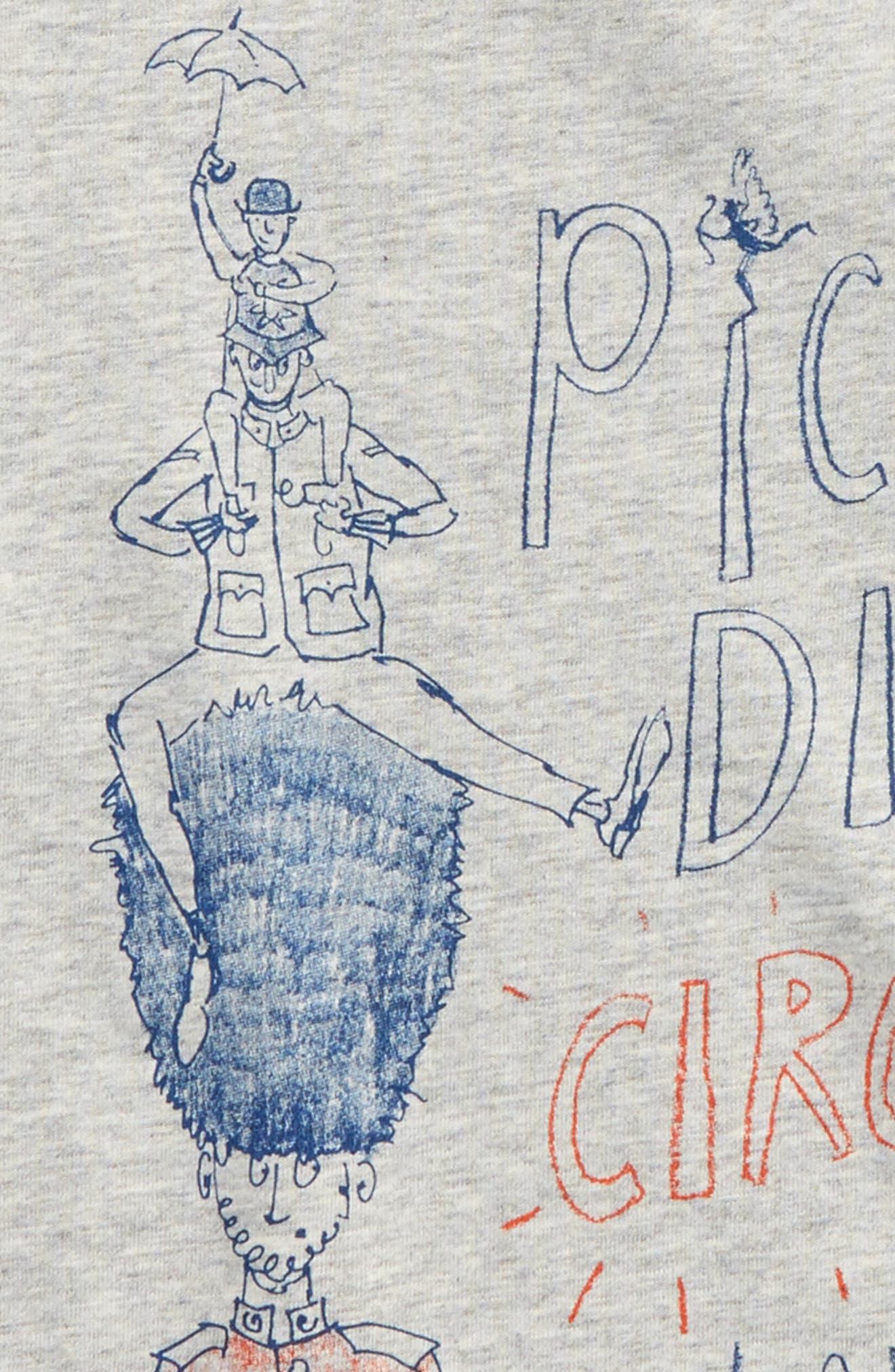 Oliver Graphic Sweatshirt,                             Alternate thumbnail 2, color,                             Navy/ Grey