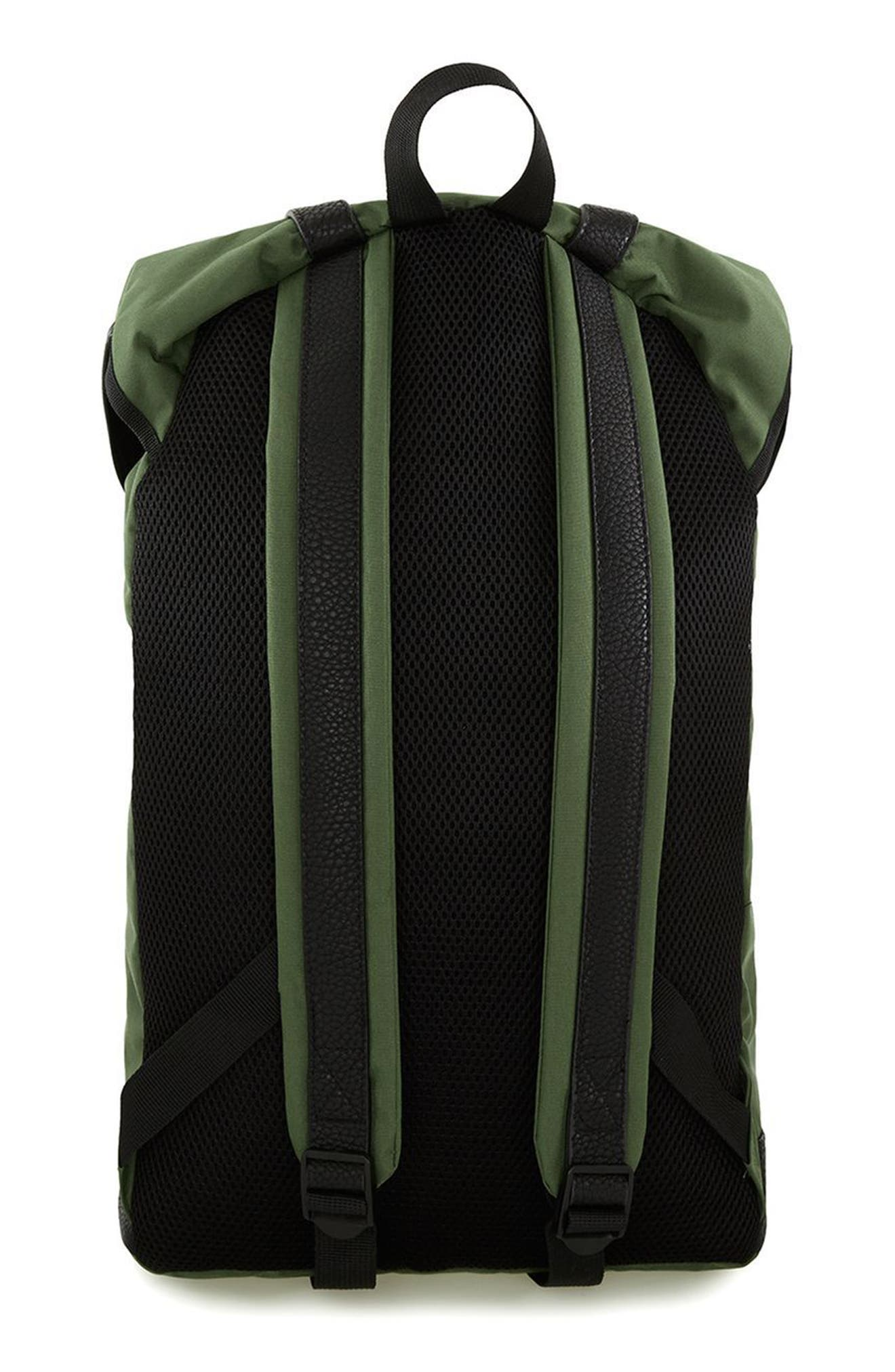 Alternate Image 2  - Topman Explorer Flap Top Backpack