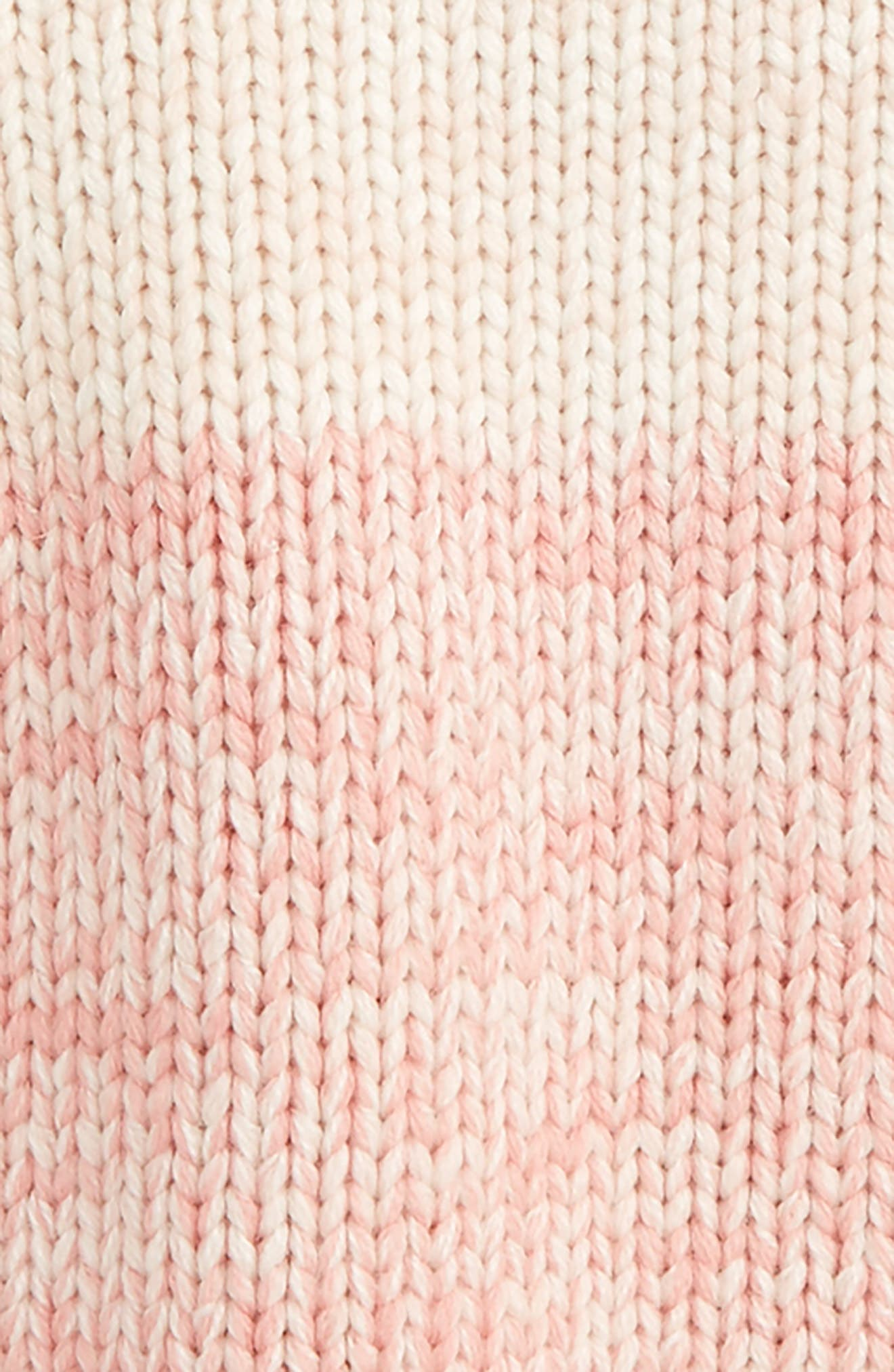 Kids Freddie Chunky Knit Sweater,                             Alternate thumbnail 2, color,                             Pink