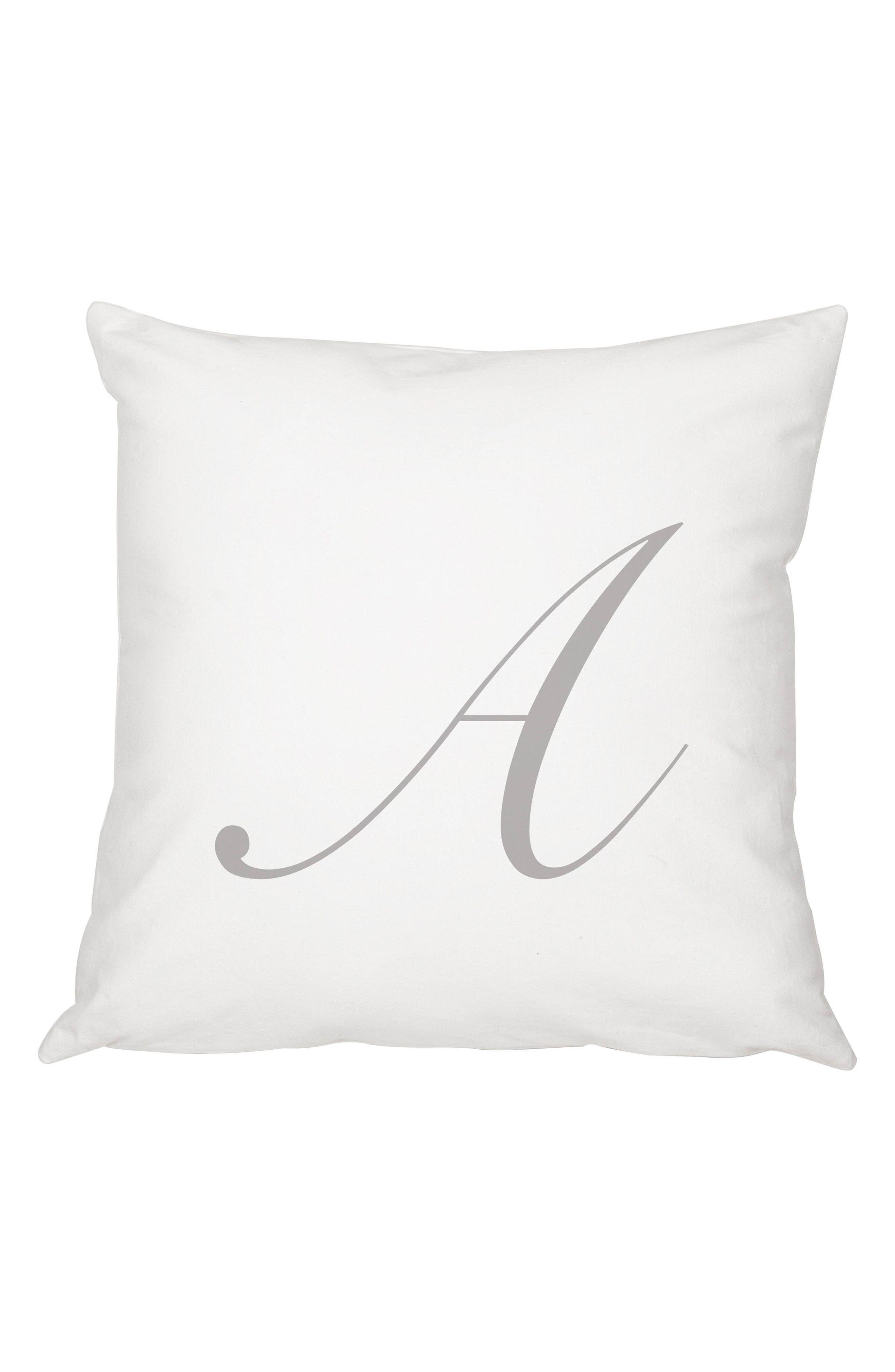 Cathy's Concepts Script Monogram Accent Pillow