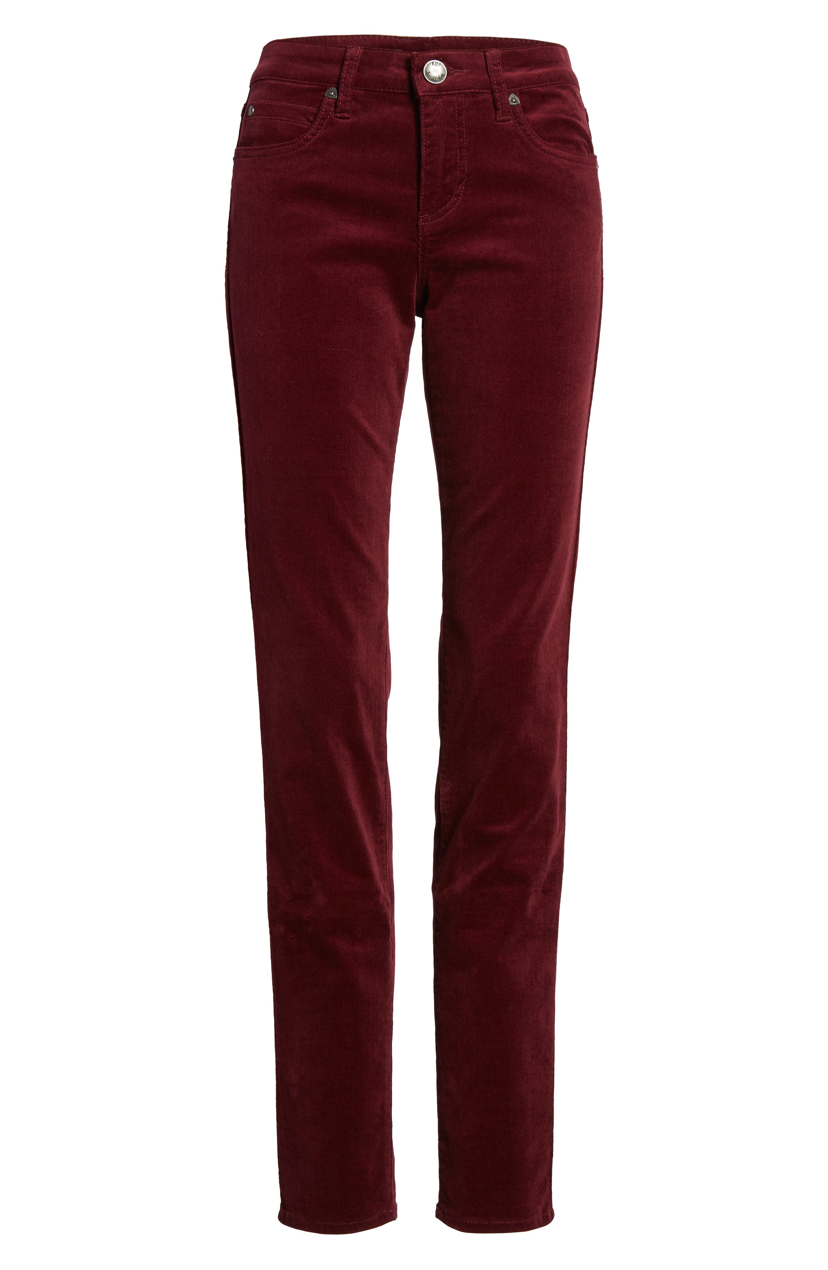Alternate Image 6  - KUT from the Kloth Diana Stretch Corduroy Skinny Pants (Regular & Petite)