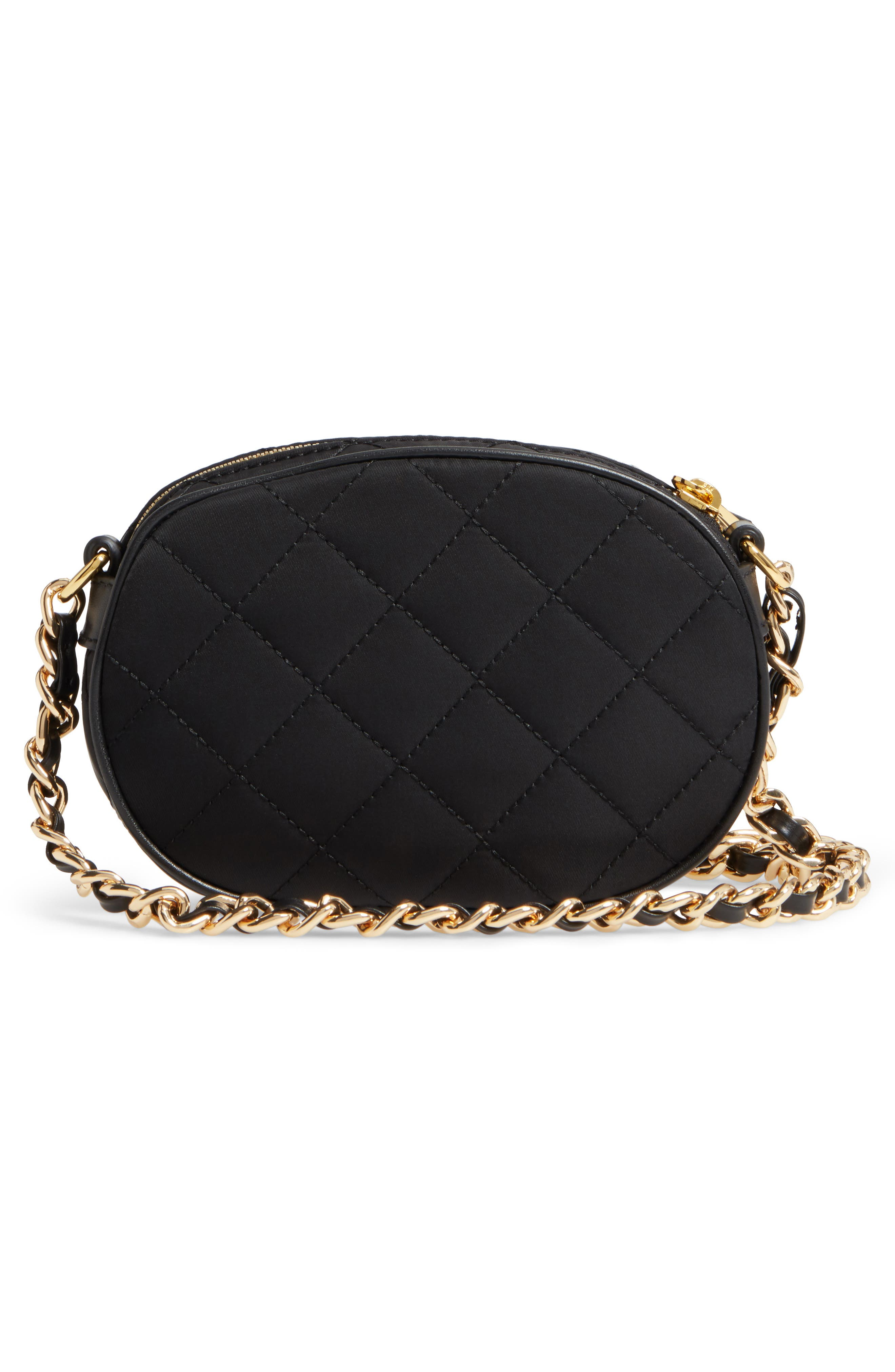 Alternate Image 3  - Moschino Small Quilted Camera Bag