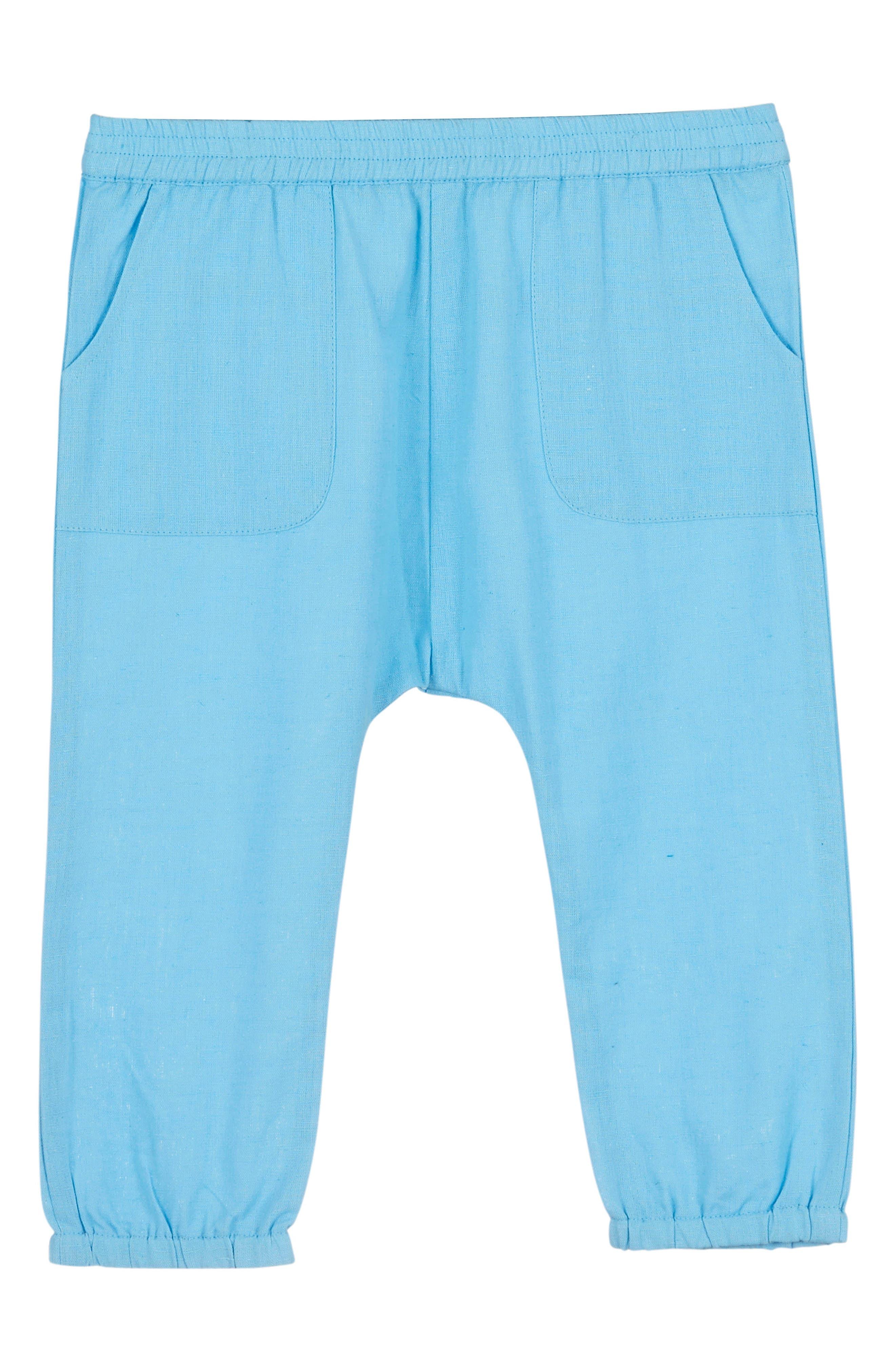 Harem Pants,                         Main,                         color, Heritage Blue