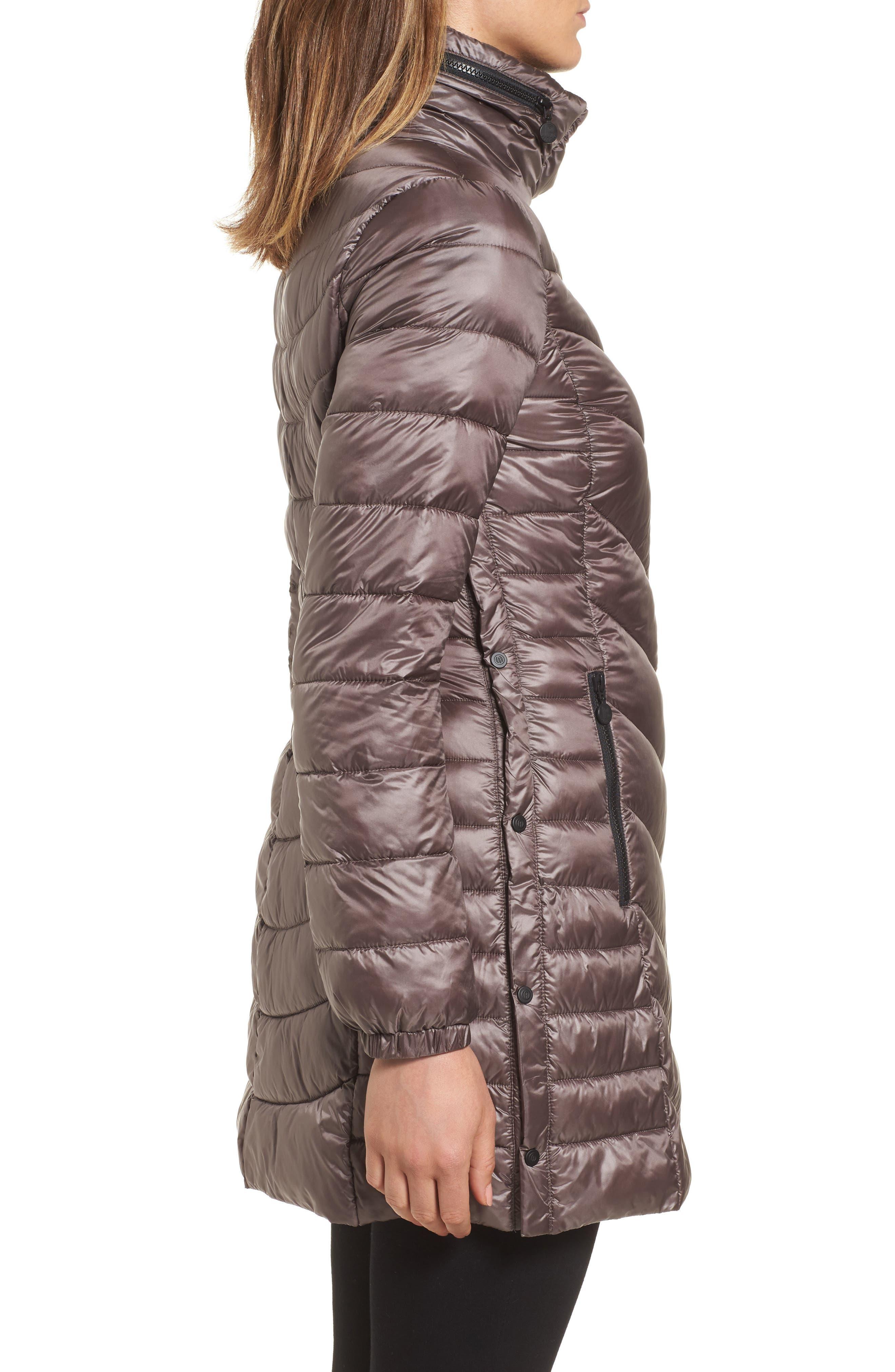 Alternate Image 3  - Bernardo Packable Thermoplume Coat