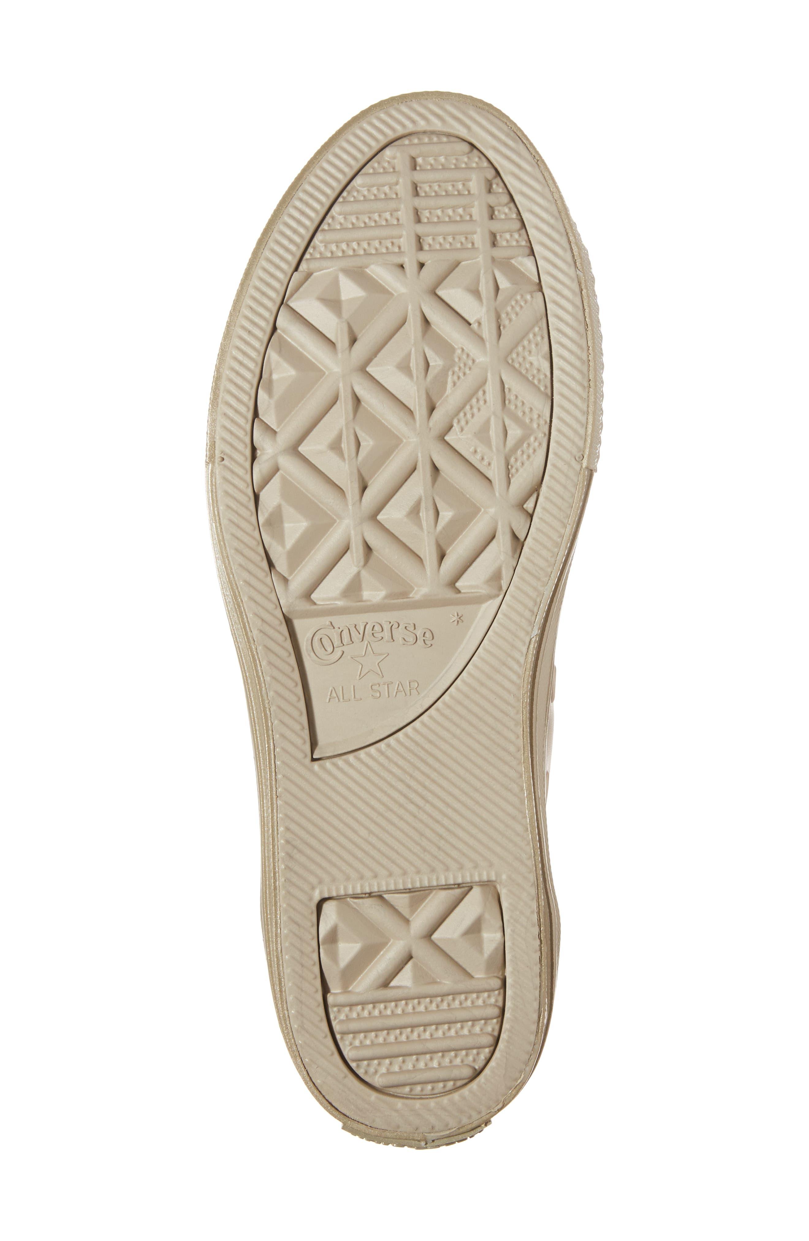 Alternate Image 6  - Converse Chuck Taylor® All Star® Mono Metallic Low Top Sneaker (Toddler & Little Kid)