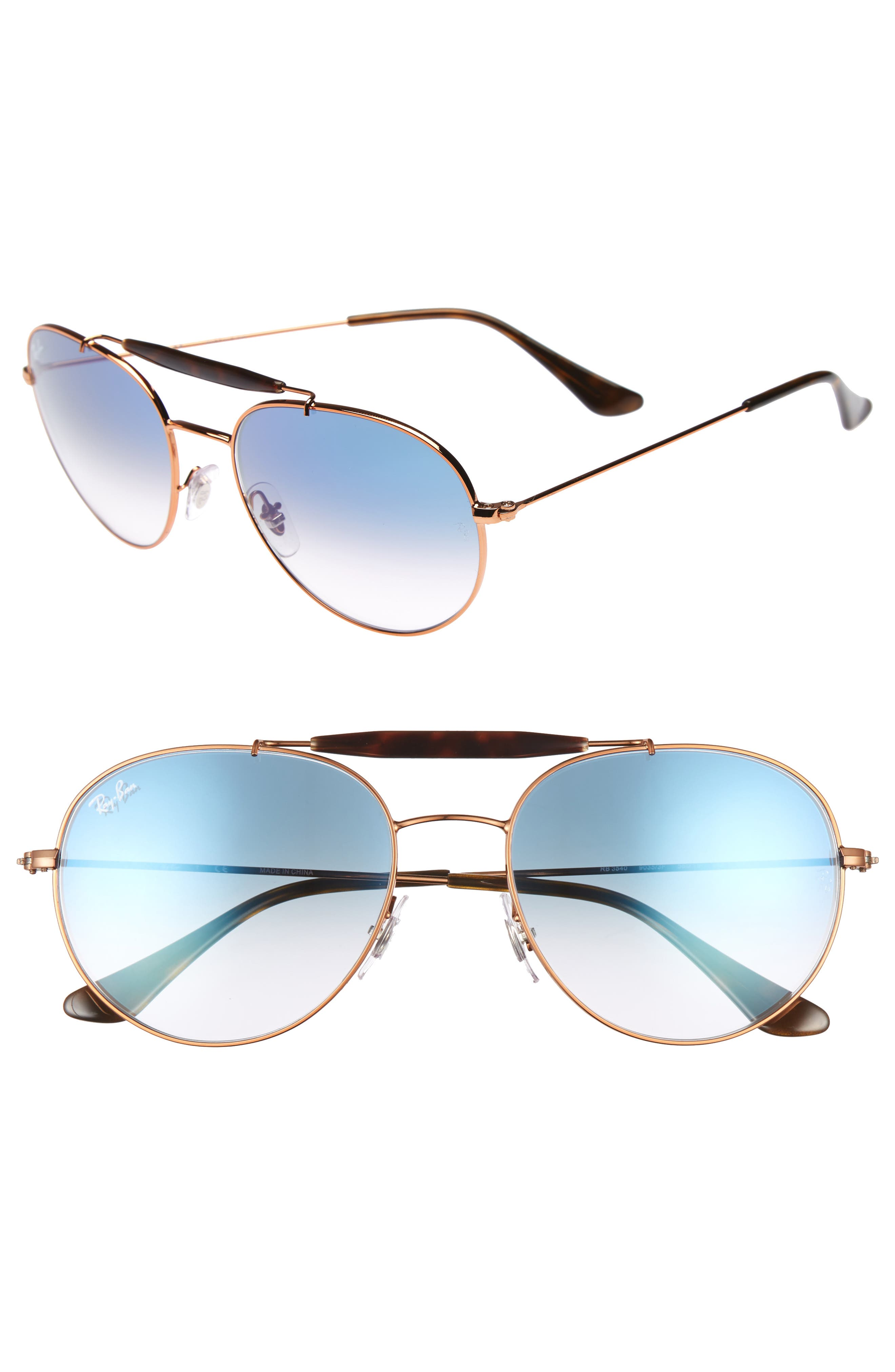 Alternate Image 1 Selected - Ray-Ban Highstreet 56mm Sunglasses