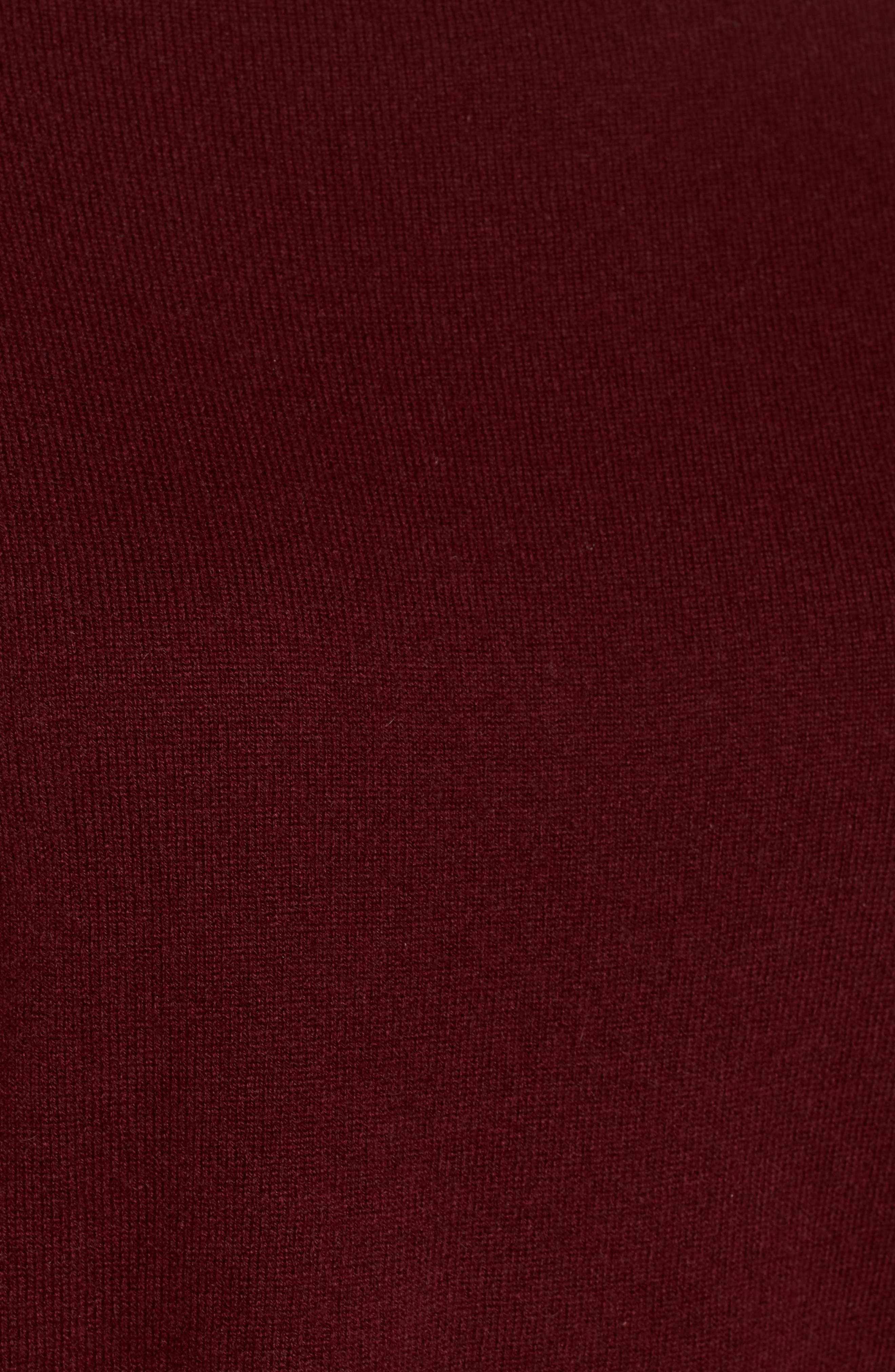 Alternate Image 5  - Nordstrom Signature Bateau Neck Cashmere Sweater