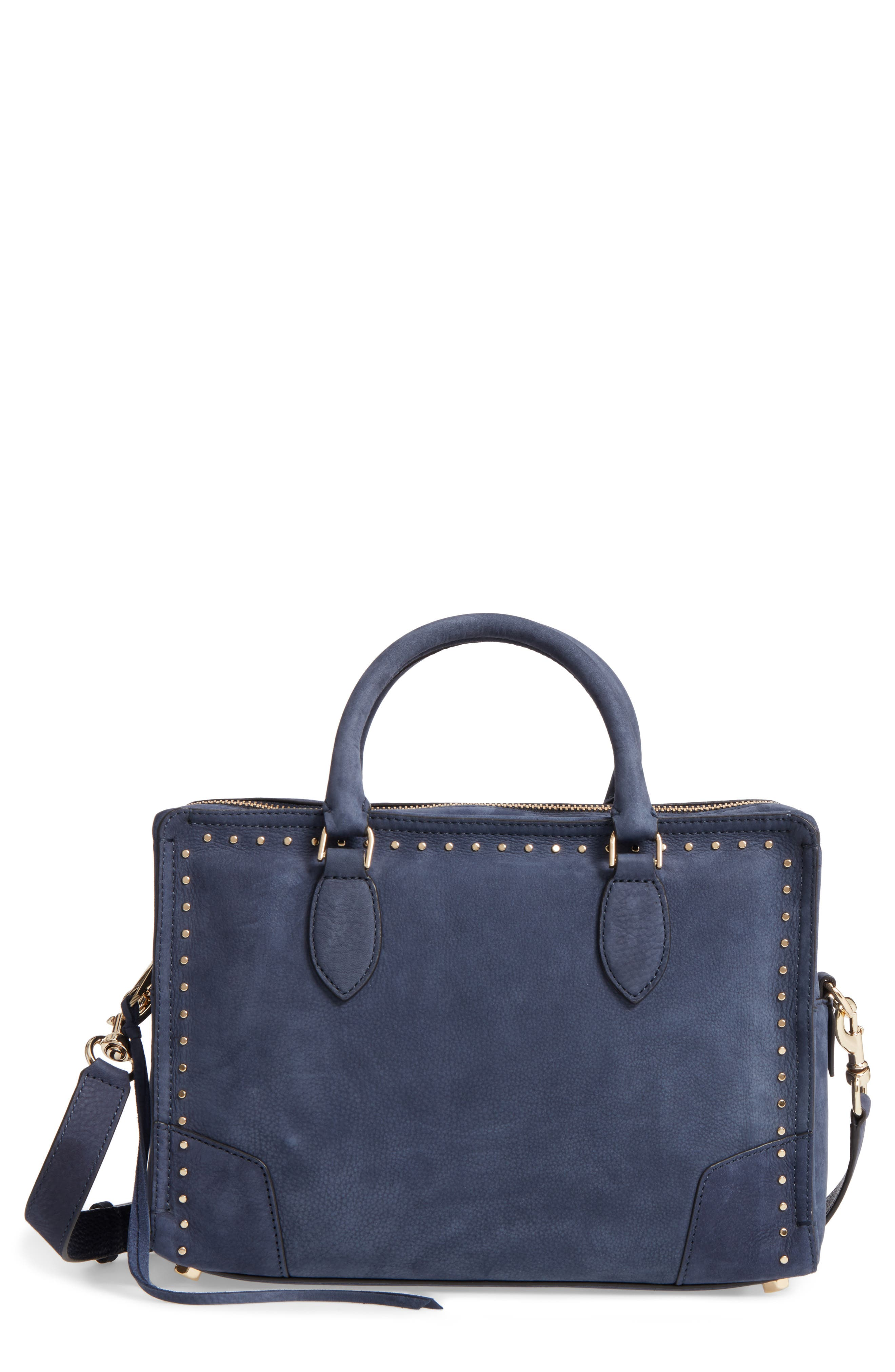 REBECCA MINKOFF Moonwalking Leather Satchel