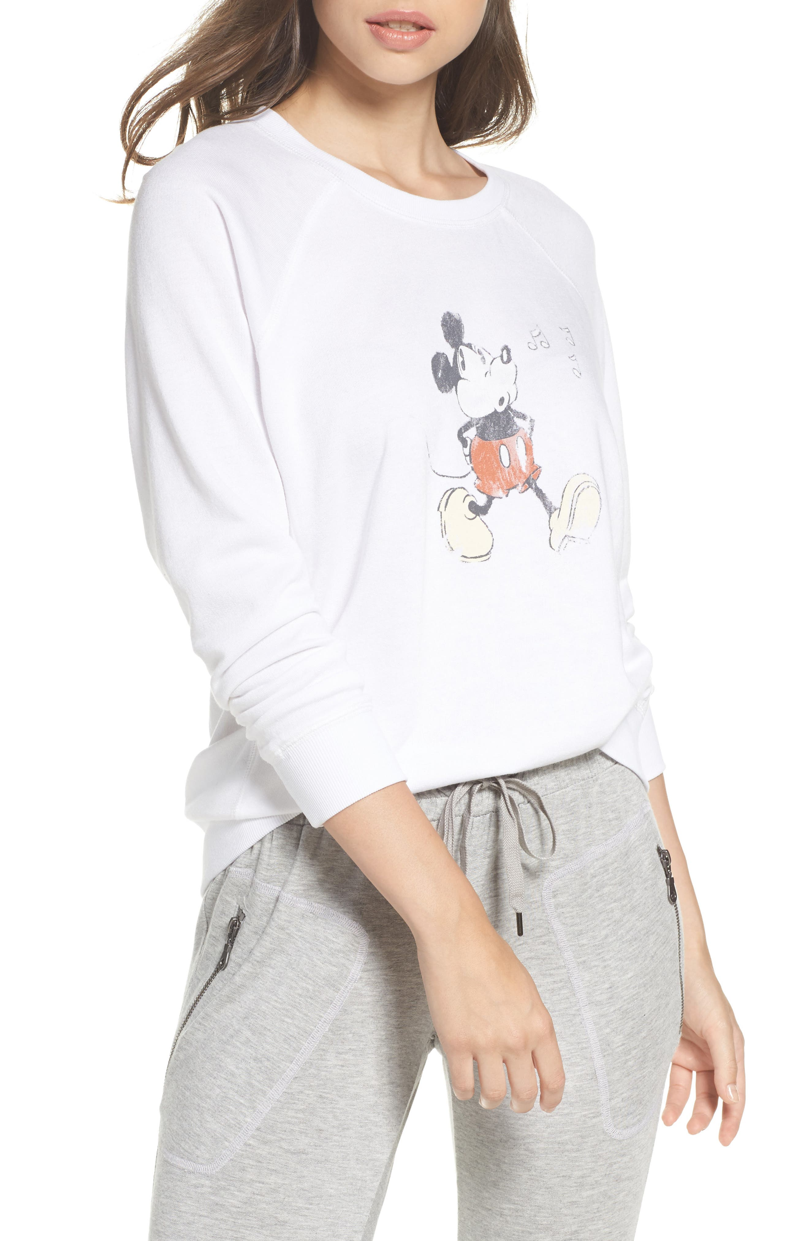 Whistle Raglan Pullover,                         Main,                         color, Ivory