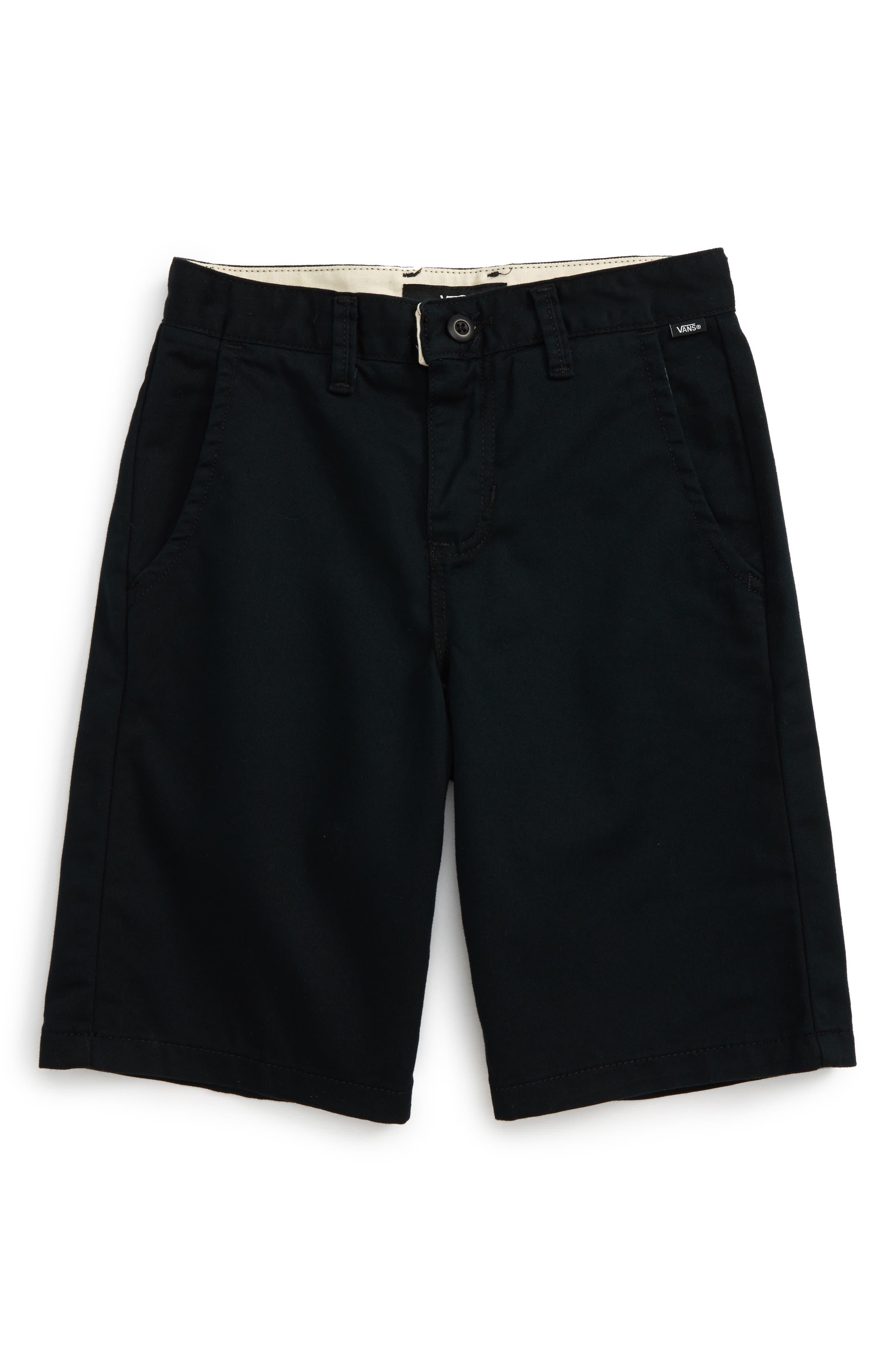 Main Image - Vans Authentic Walk Shorts (Big Boys)