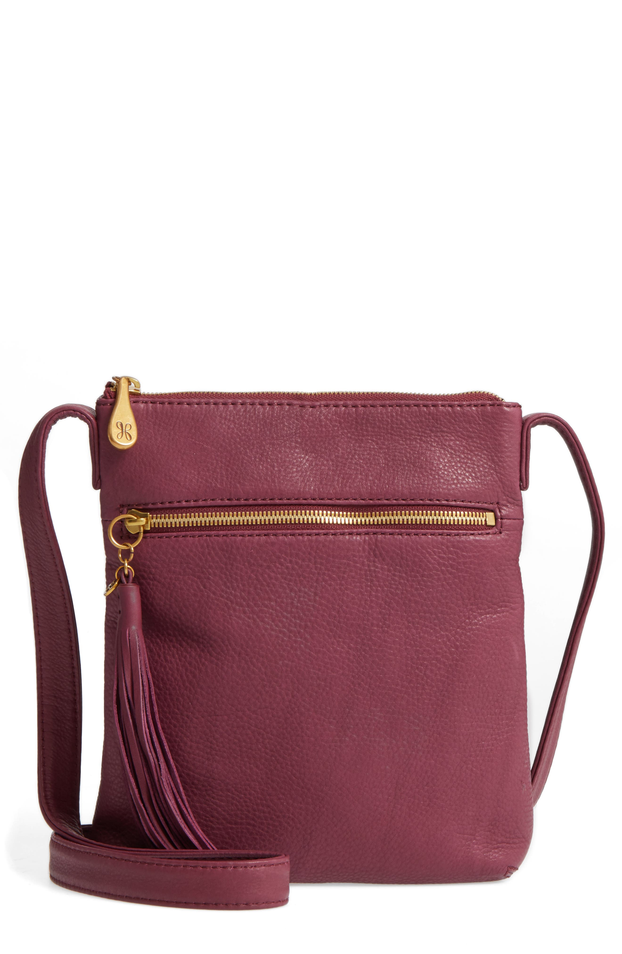 Main Image - Hobo 'Sarah' Leather Crossbody Bag