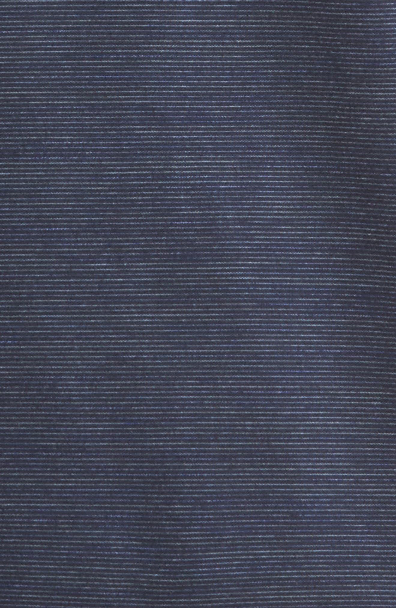 Space Dye Stripe Sweatshirt,                             Alternate thumbnail 5, color,                             Navy Night Spacedye