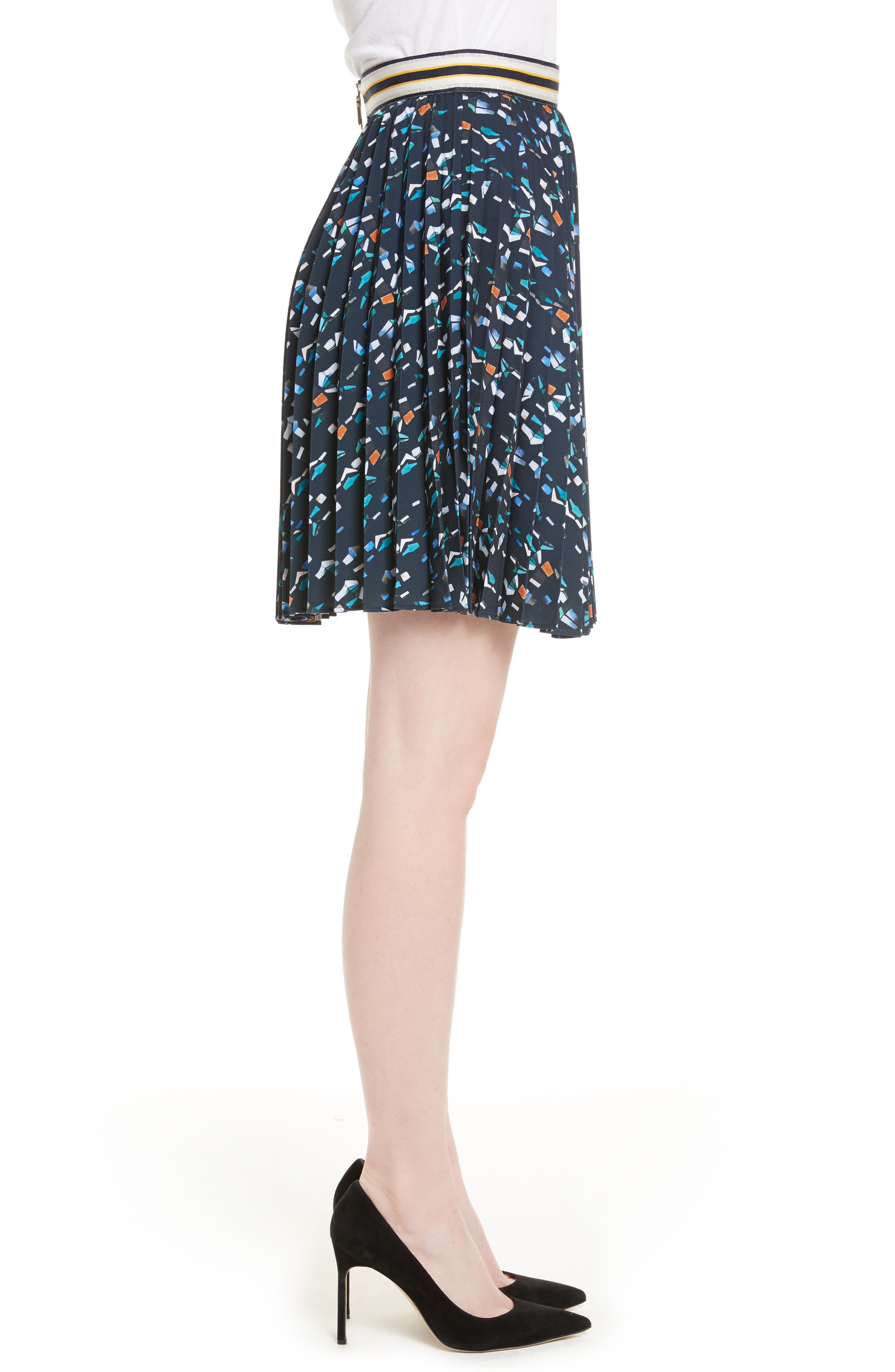 Alternate Image 3  - Ted Baker London Motrie Pleated Miniskirt