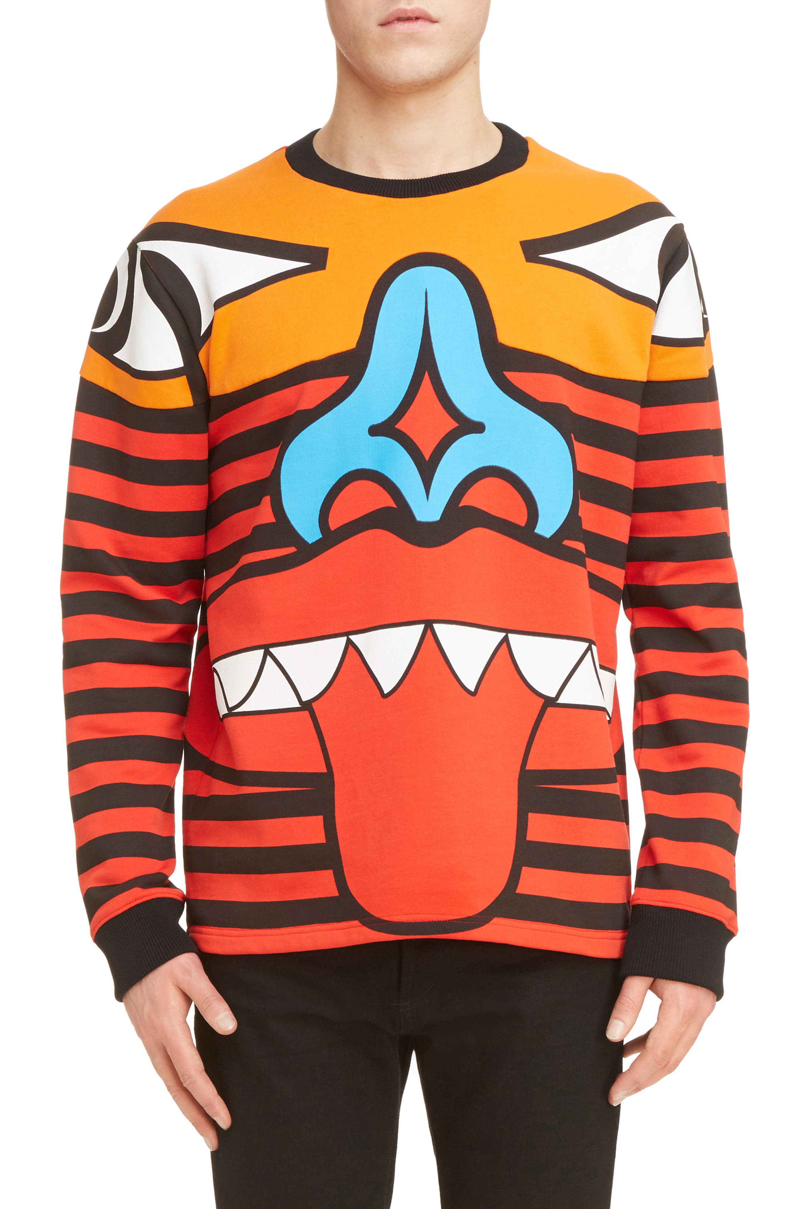 Alternate Image 1 Selected - Givenchy Runway Totem Sweatshirt