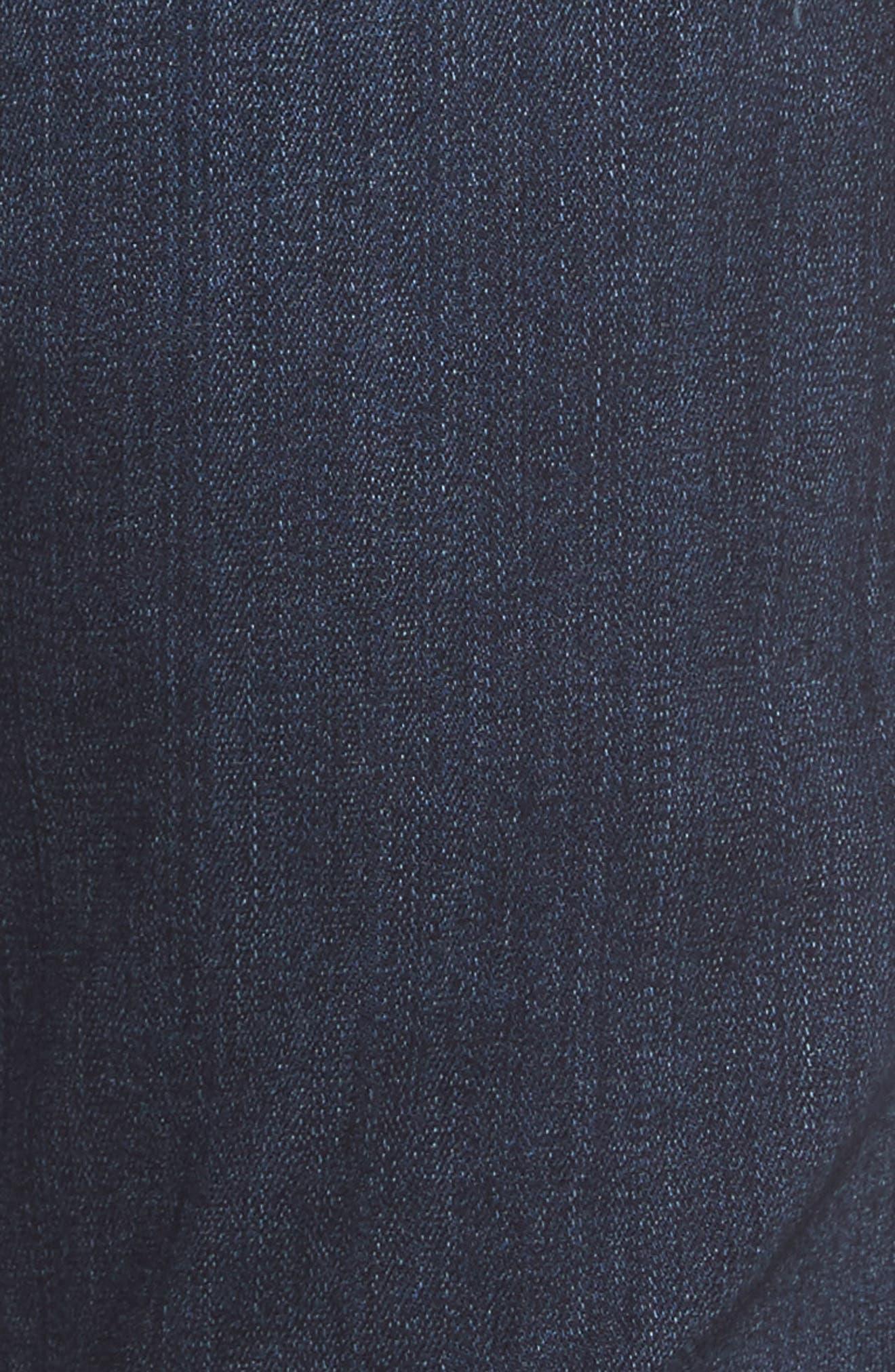 Transcend - Croft Skinny Fit Jeans,                             Alternate thumbnail 5, color,                             Barron