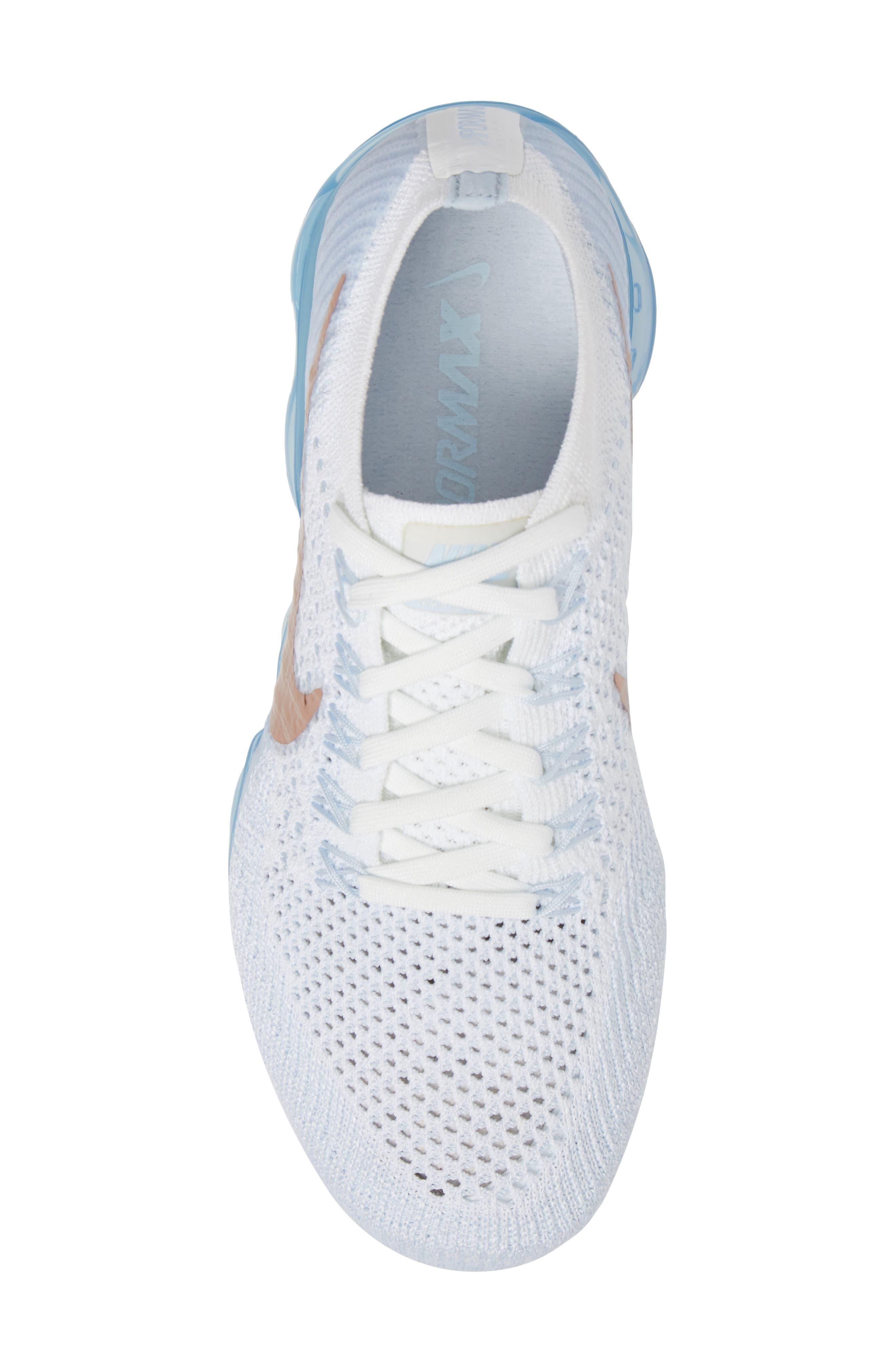 Alternate Image 5  - Nike Air VaporMax Flyknit Running Shoe (Women)