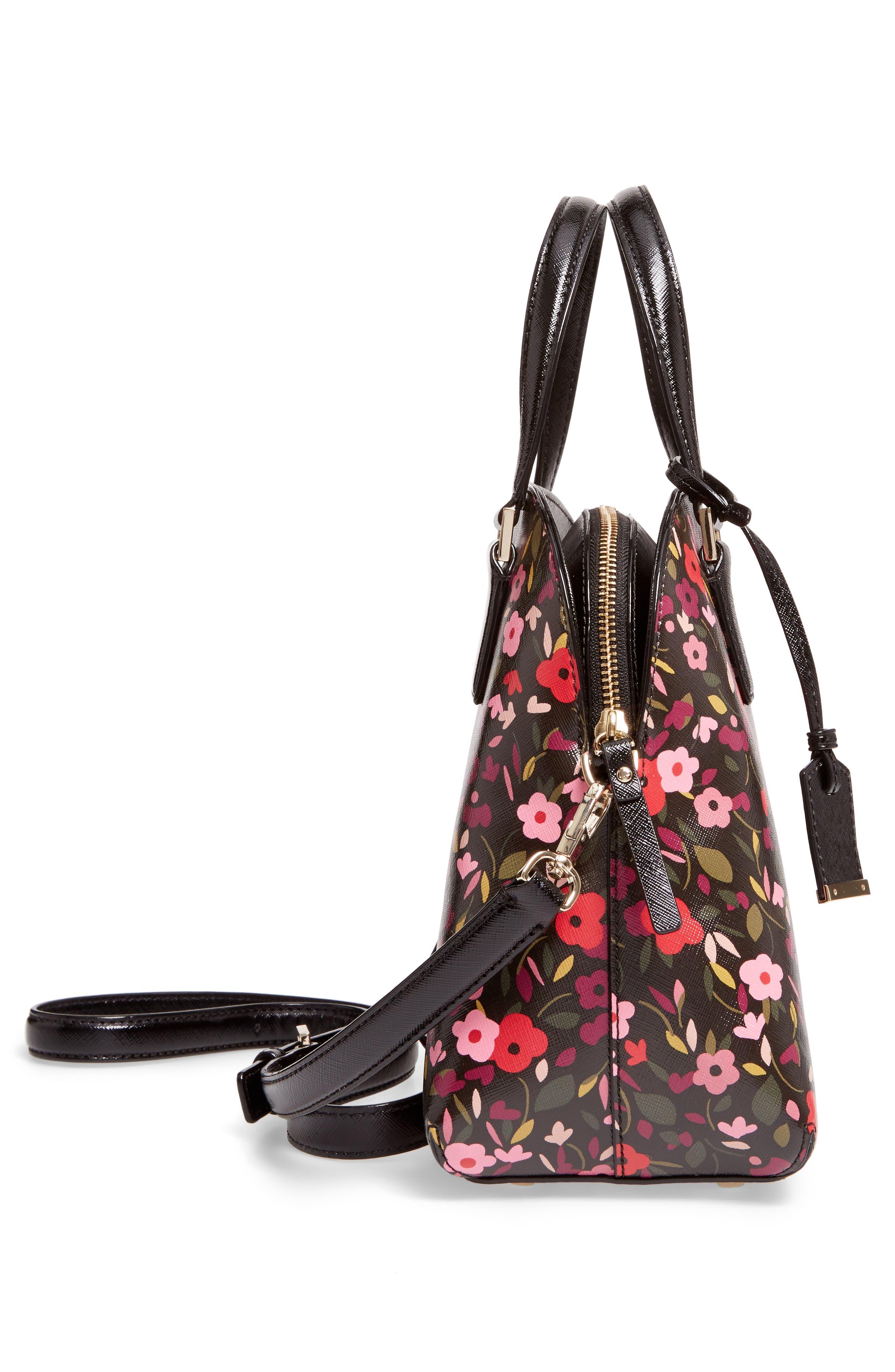 Alternate Image 4  - kate spade new york cameron street boho floral- lottie leather satchel