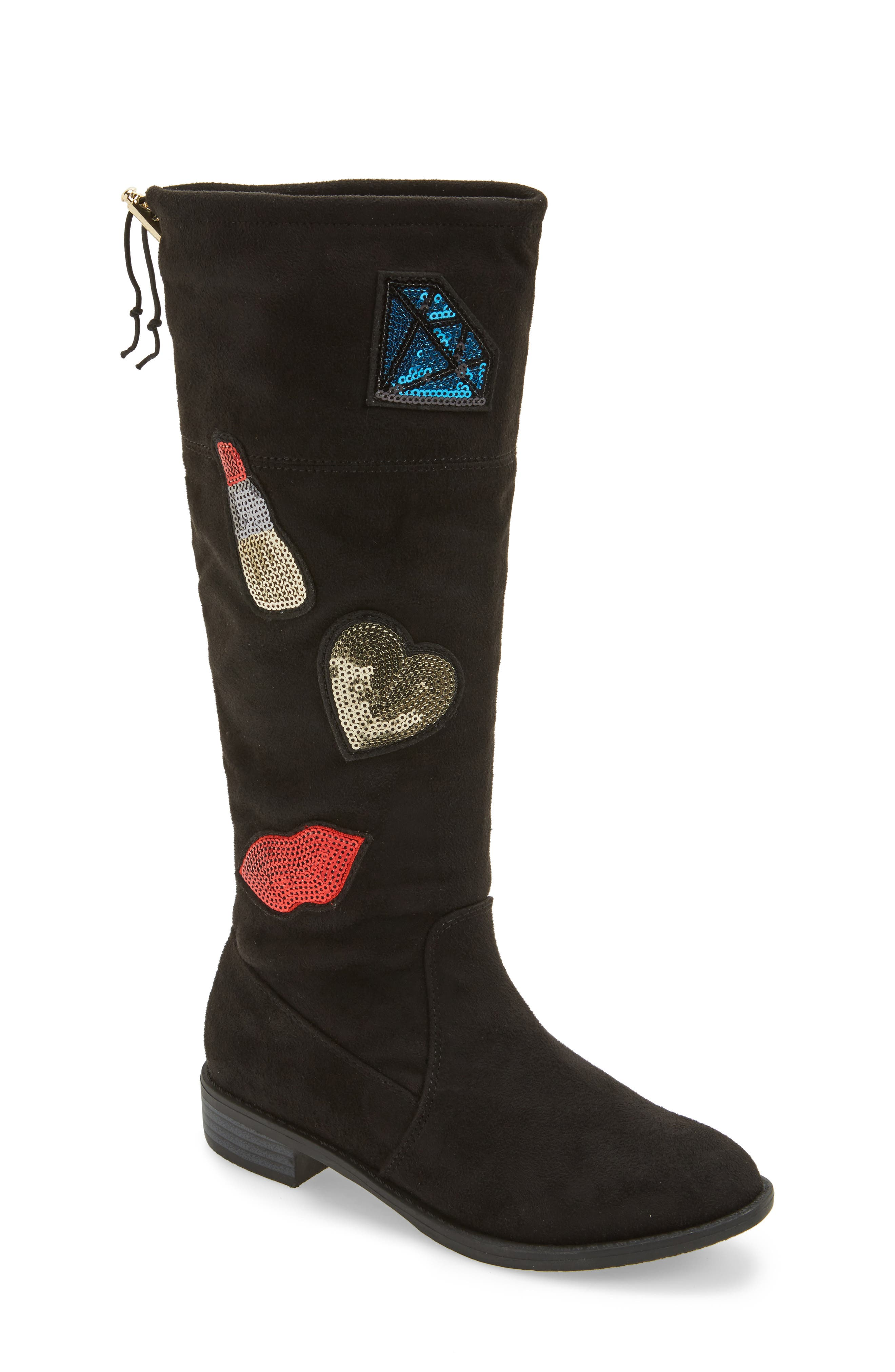 Sam Edelman Pia Patches Tall Boot (Toddler, Little Kid & Big Kid)