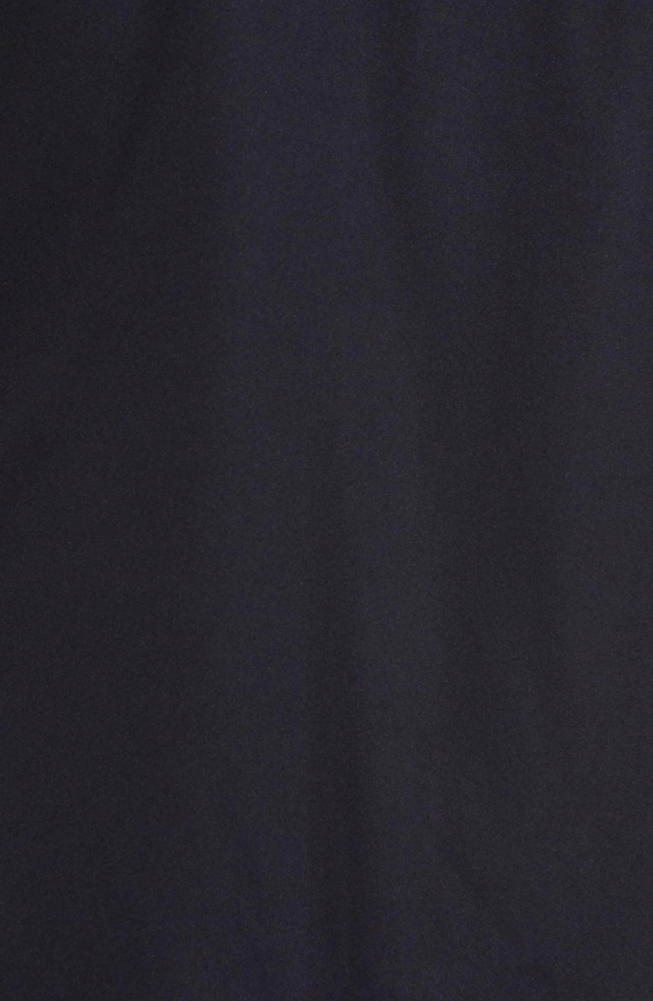 Soft Shell Zip Vest,                             Alternate thumbnail 5, color,                             Black