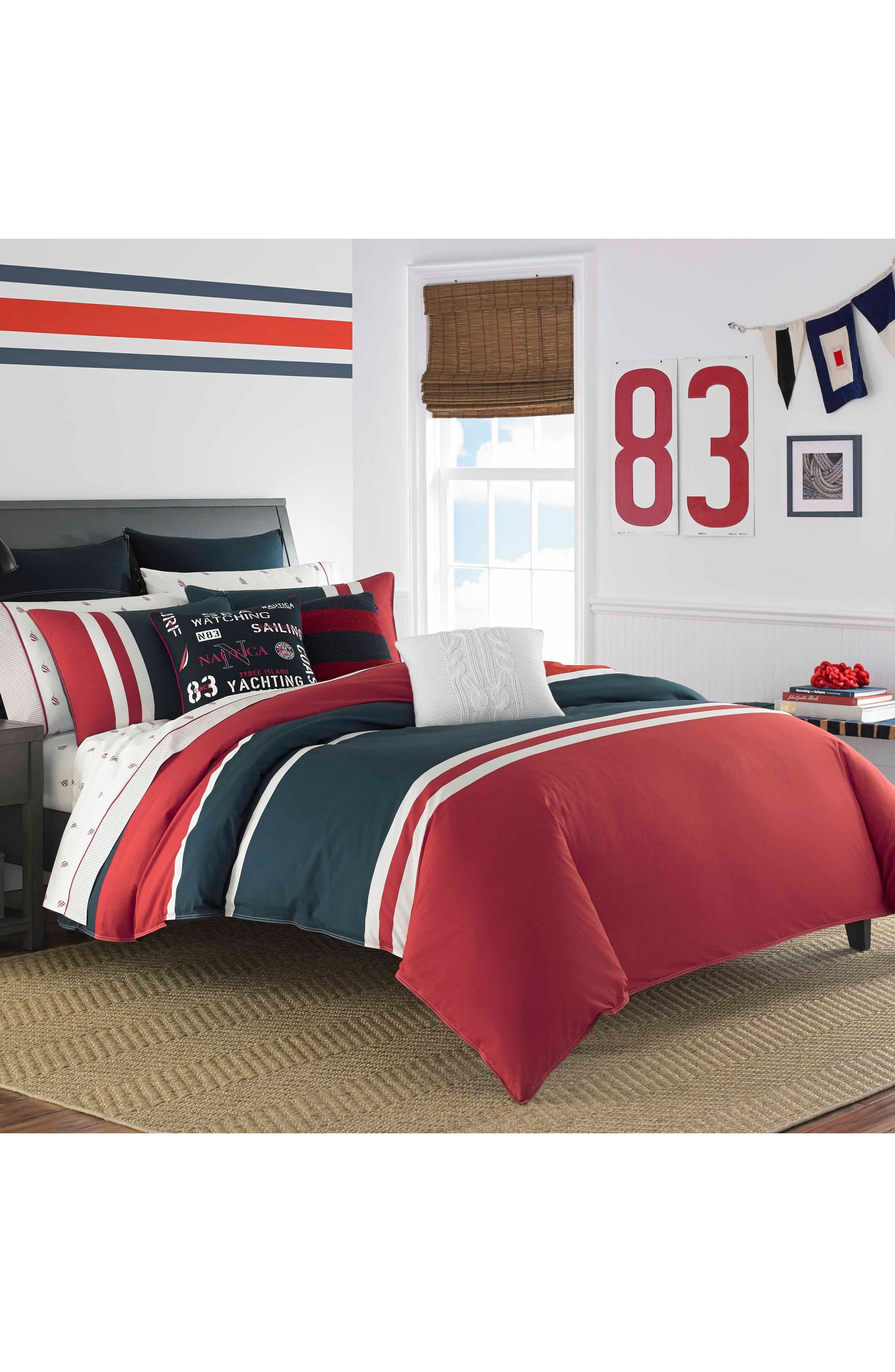 Nautica Heritage Colorblock Bedding Collection