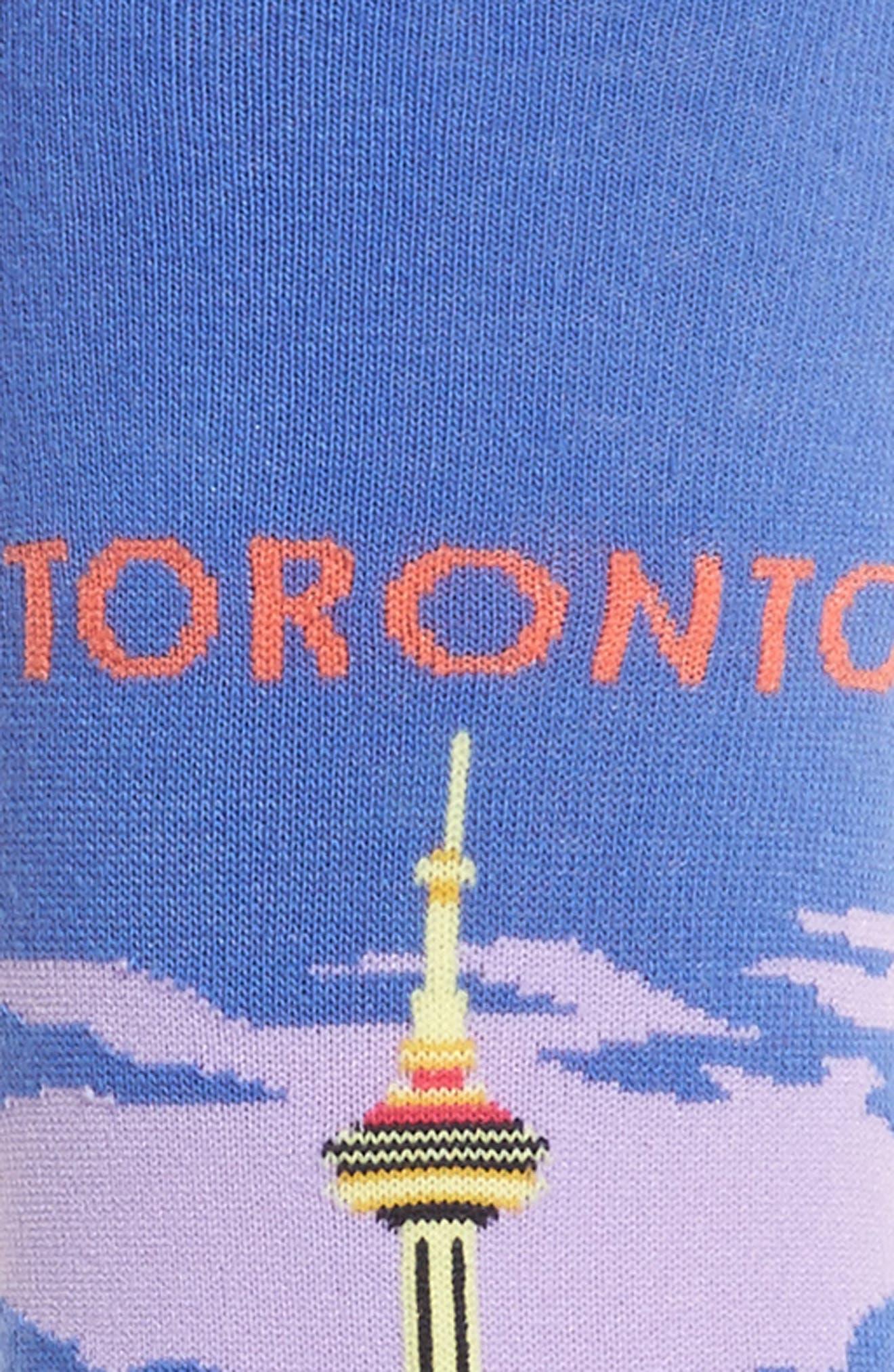 Toronto Crew Socks,                             Alternate thumbnail 2, color,                             Blue