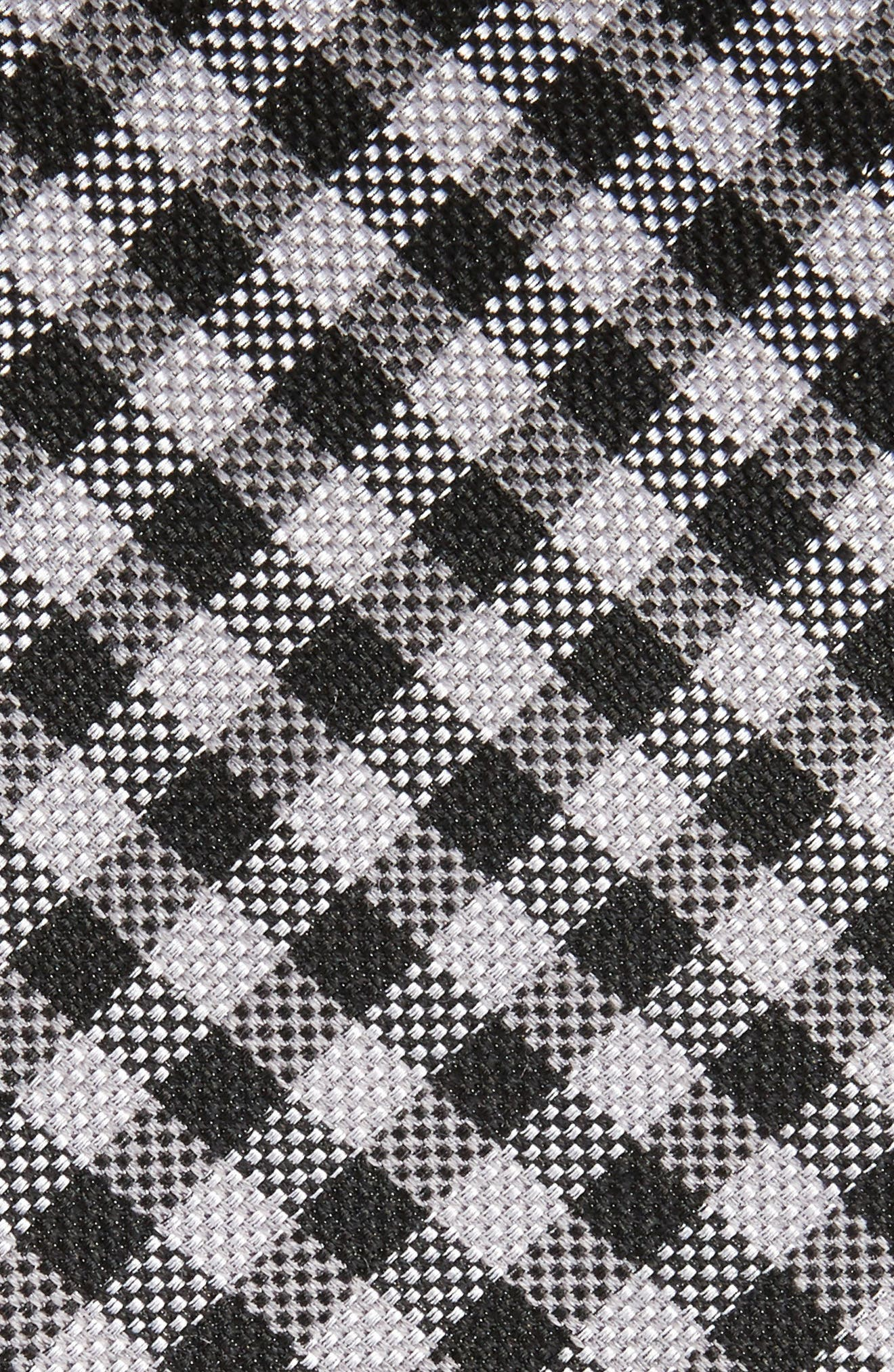 Alternate Image 2  - Nordstrom Men's Shop Check Silk & Wool Tie (X-Long)