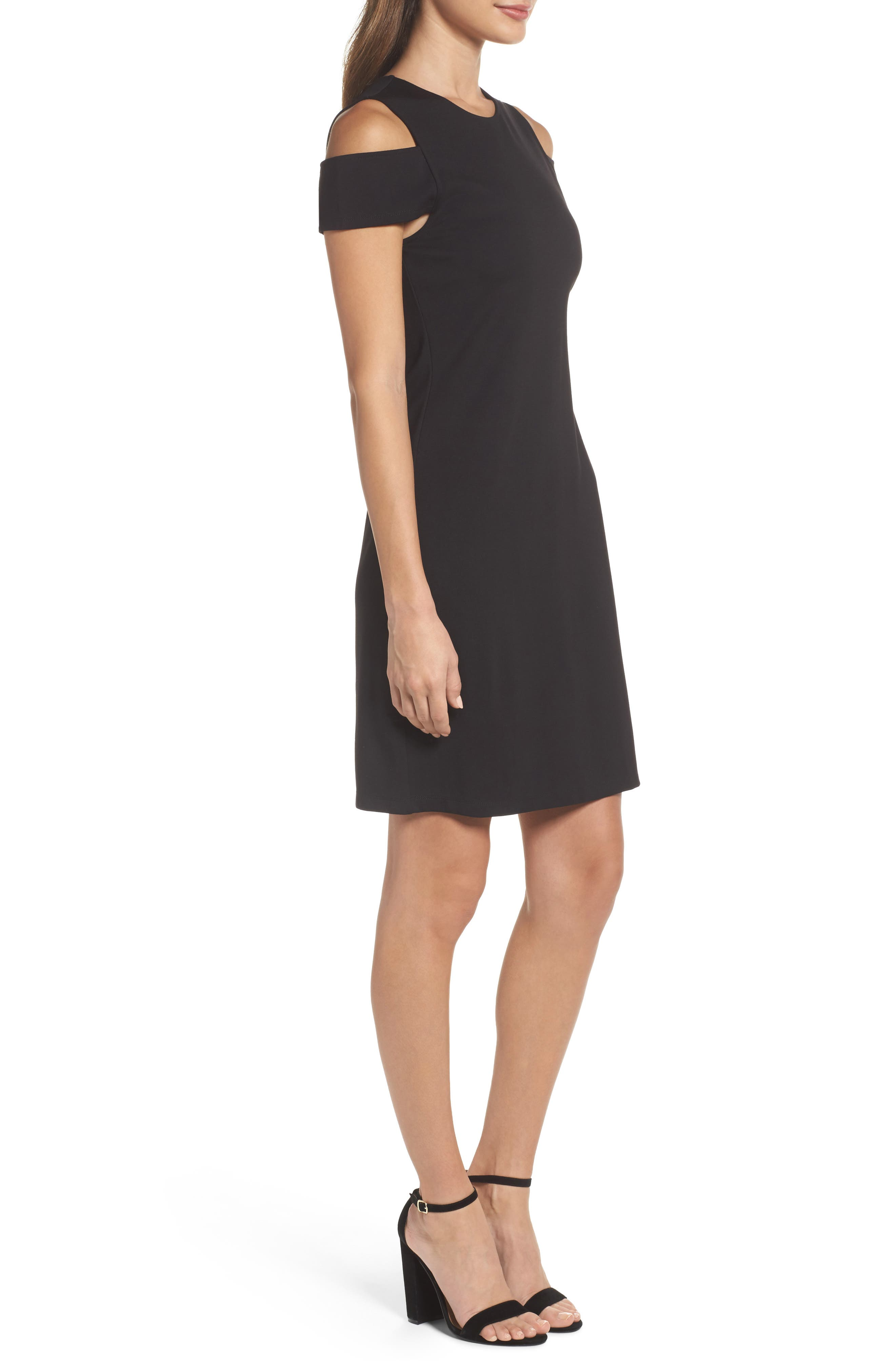 Alternate Image 3  - BB Dakota Cold Shoulder Sheath Dress