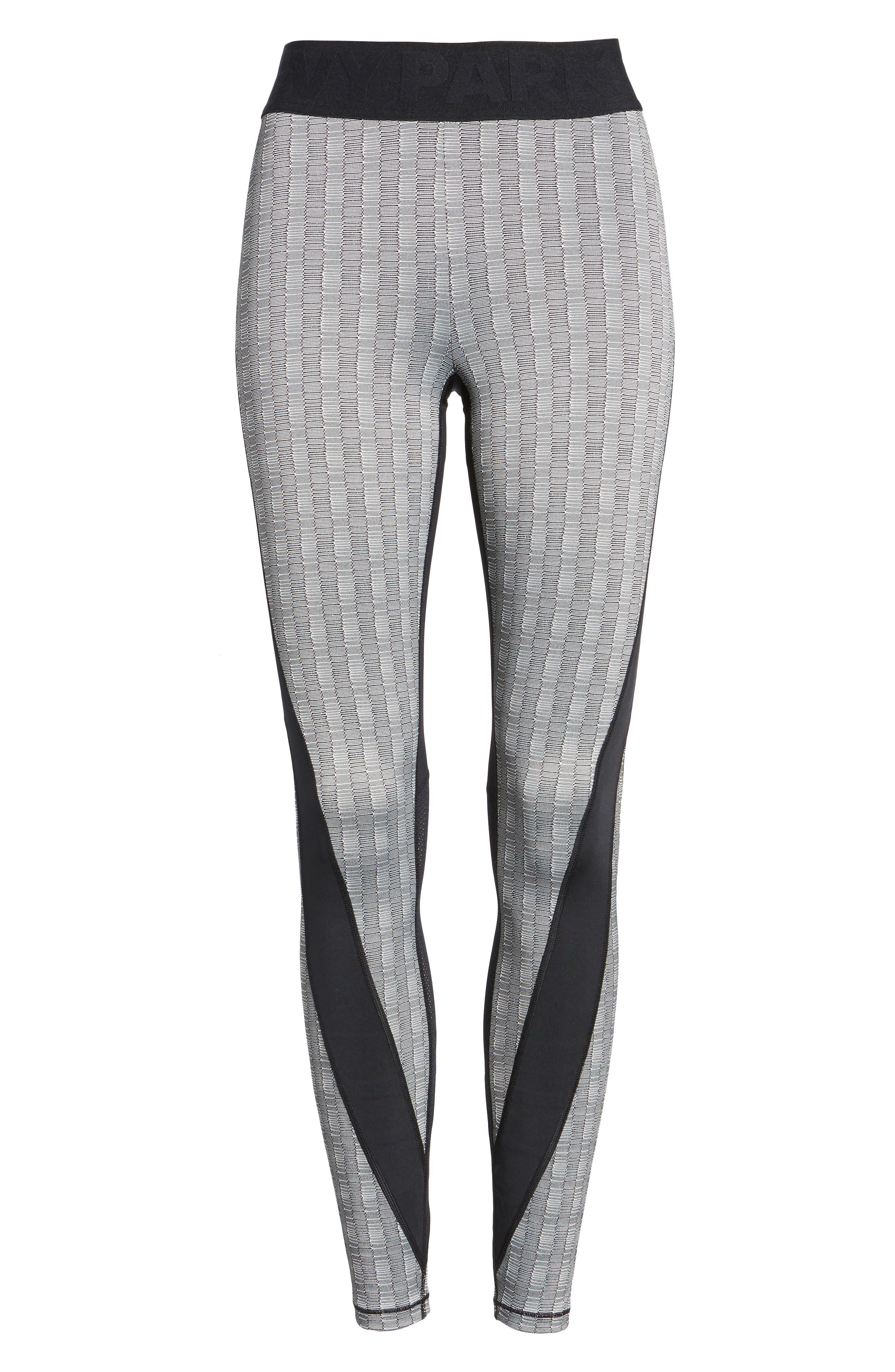 Alternate Image 7  - IVY PARK® Jacquard Block Ankle Leggings