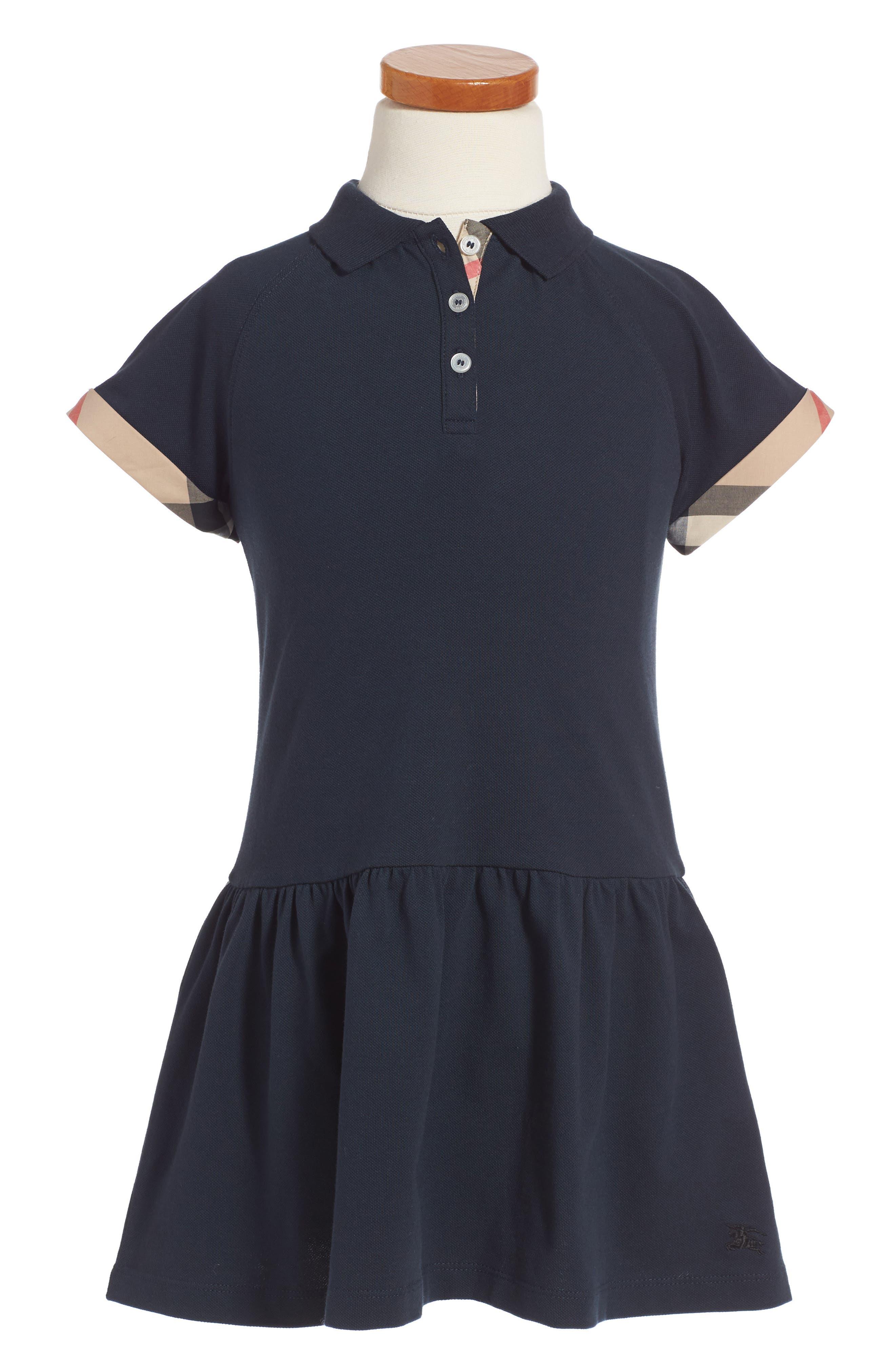 Burberry Mini Cali Polo Dress (Toddler Girls)