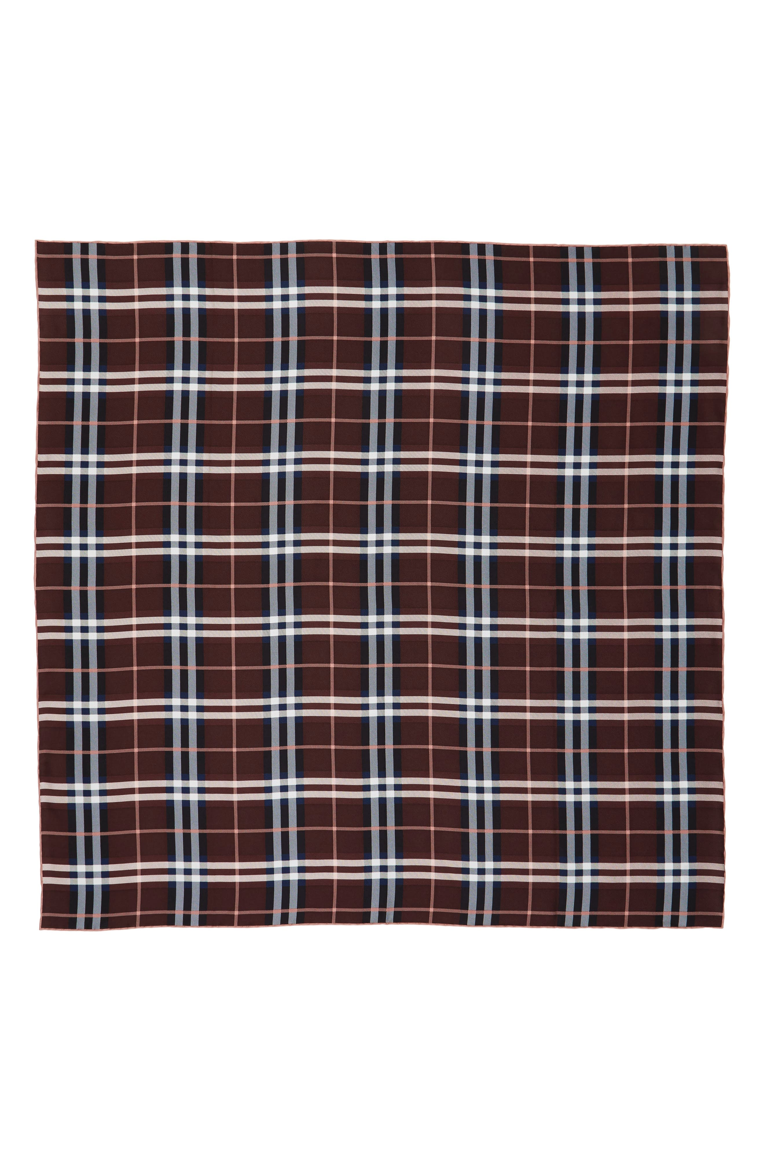 Alternate Image 2  - Burberry Castleford Check Silk Scarf