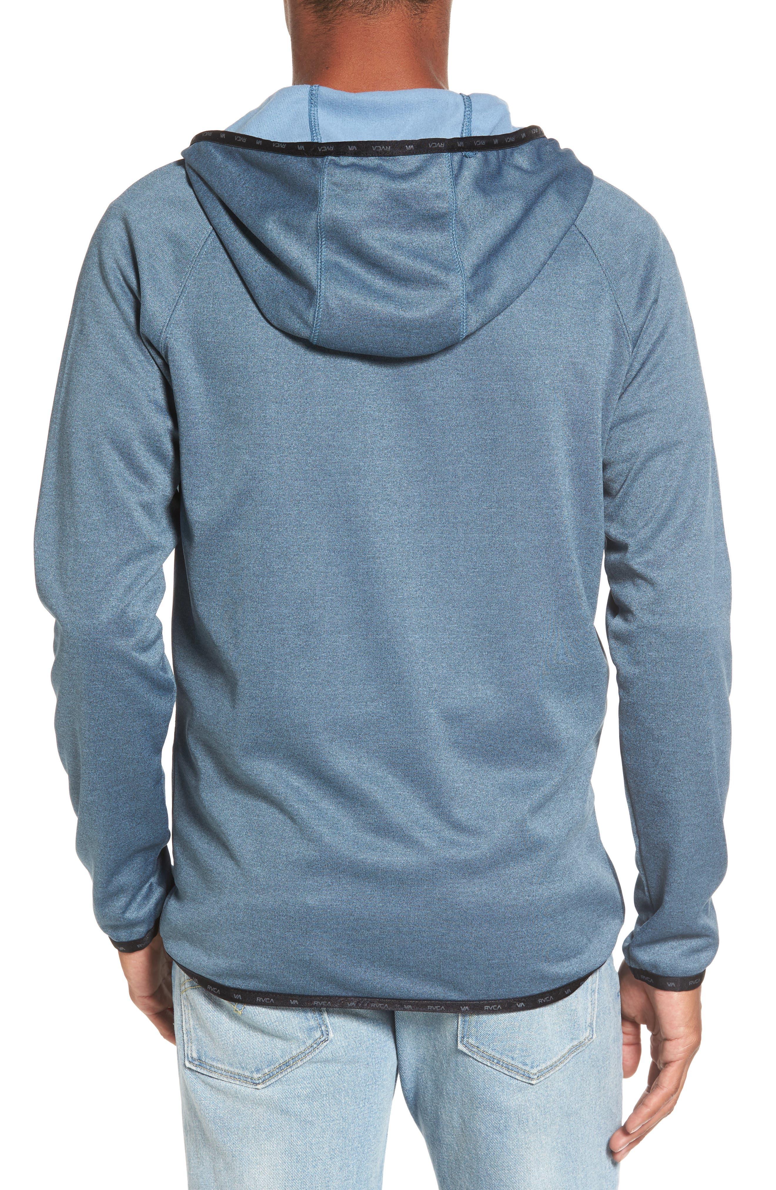 Shermin Zip Hoodie,                             Alternate thumbnail 2, color,                             Desert Blue