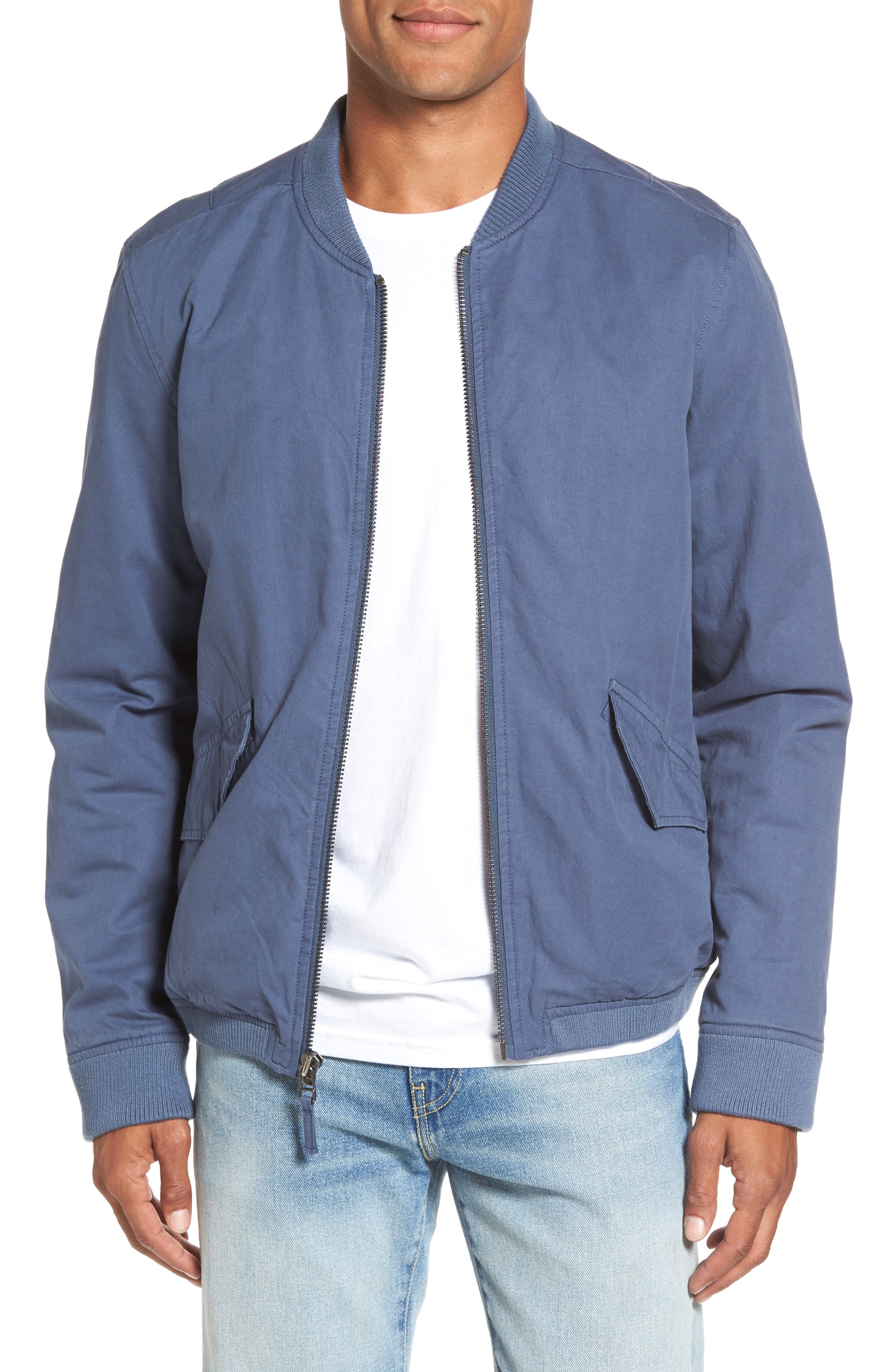 Alternate Image 1 Selected - RVCA All City Bomber Jacket