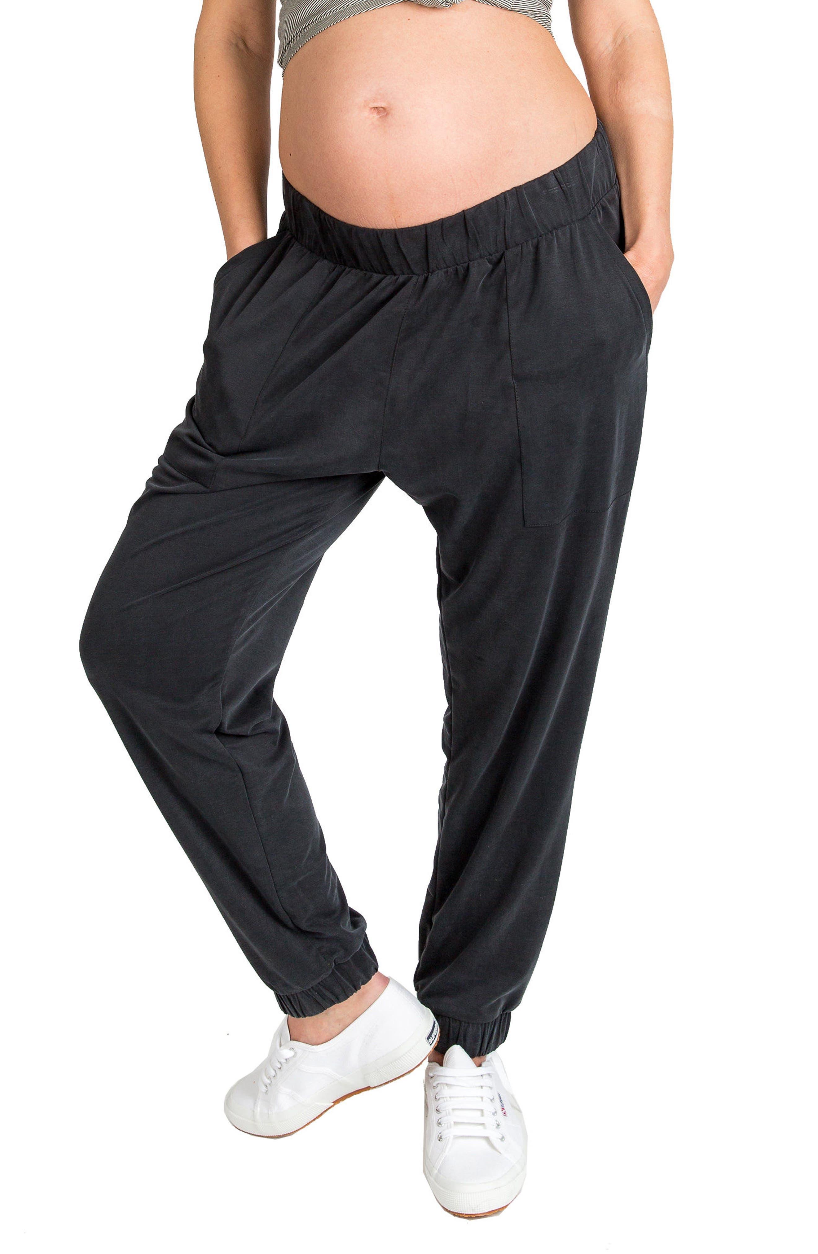'Jenna' Maternity Pants,                         Main,                         color, Slate