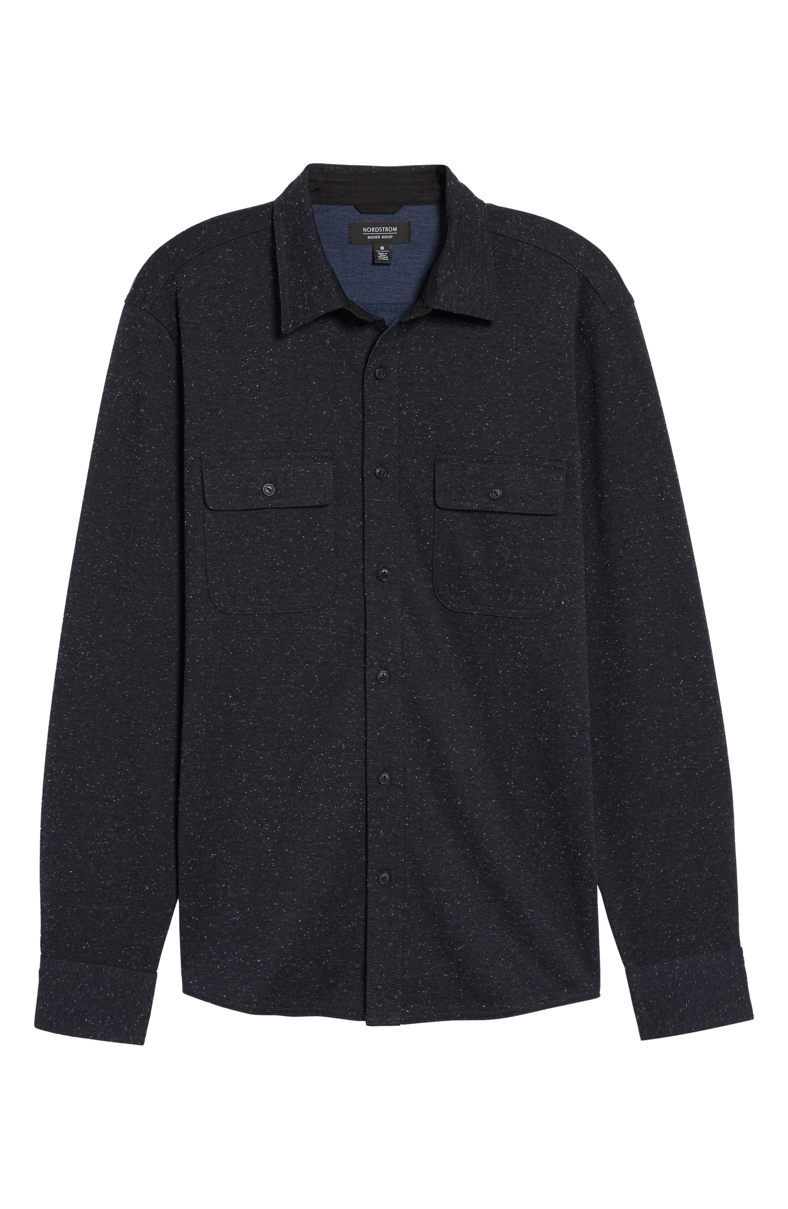 Alternate Image 6  - Nordstrom Men's Shop Knit Sport Shirt