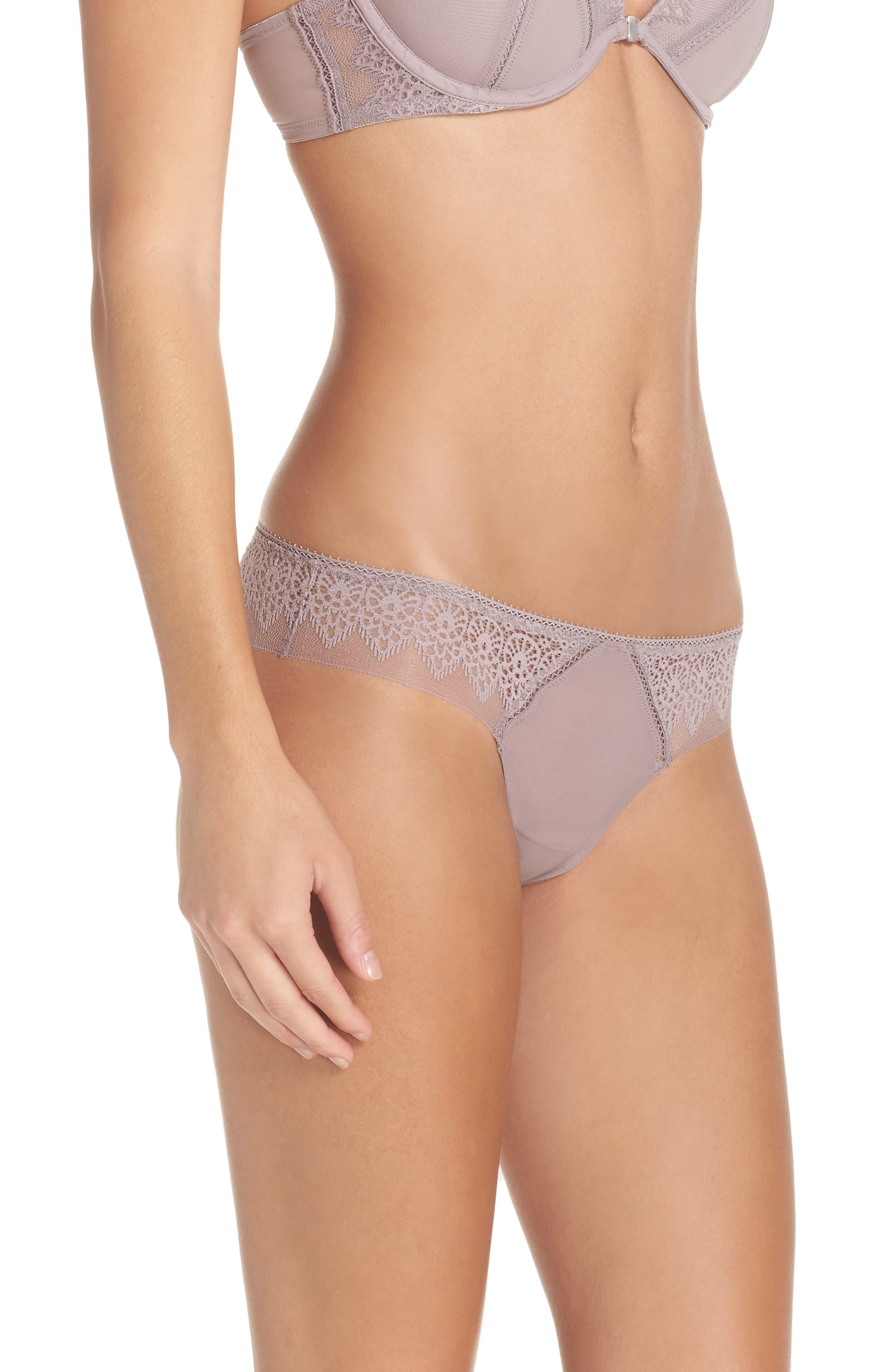 Alternate Image 3  - Calvin Klein Lace Thong