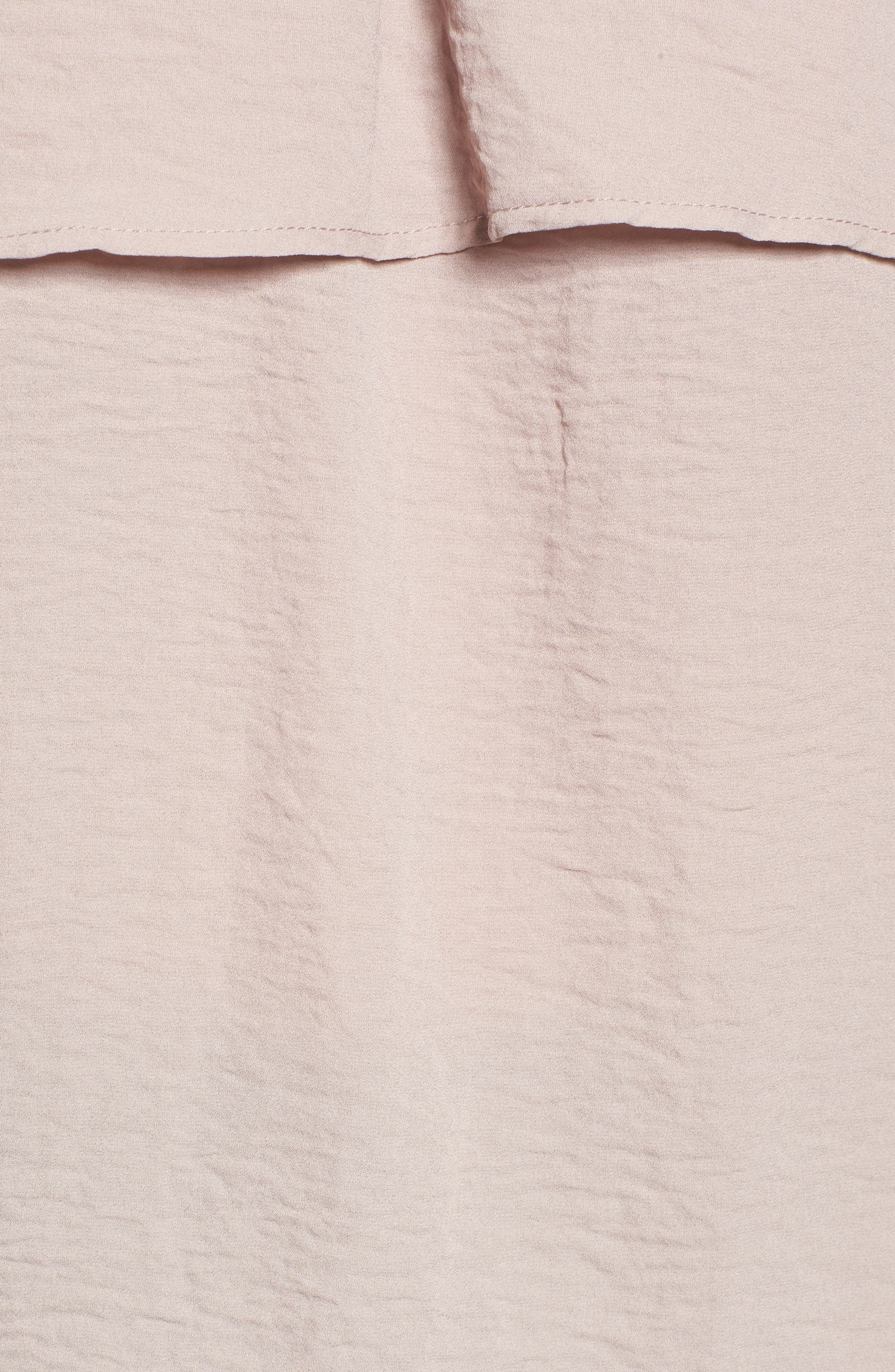 Alternate Image 5  - Love, Fire Tiered Ruffle Sleeve Blouse