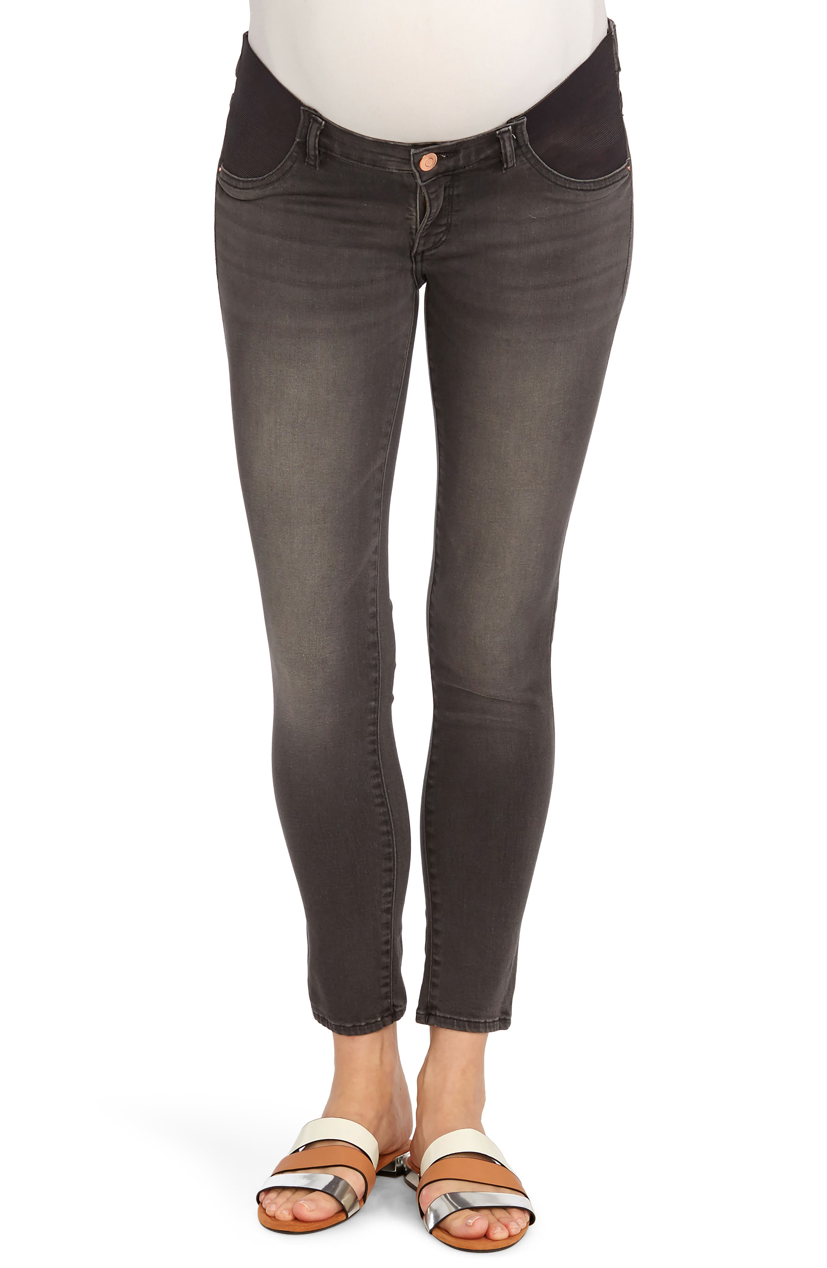 Main Image - Rosie Pope x DL1961 Ankle Skinny Maternity Jeans (Wickham)