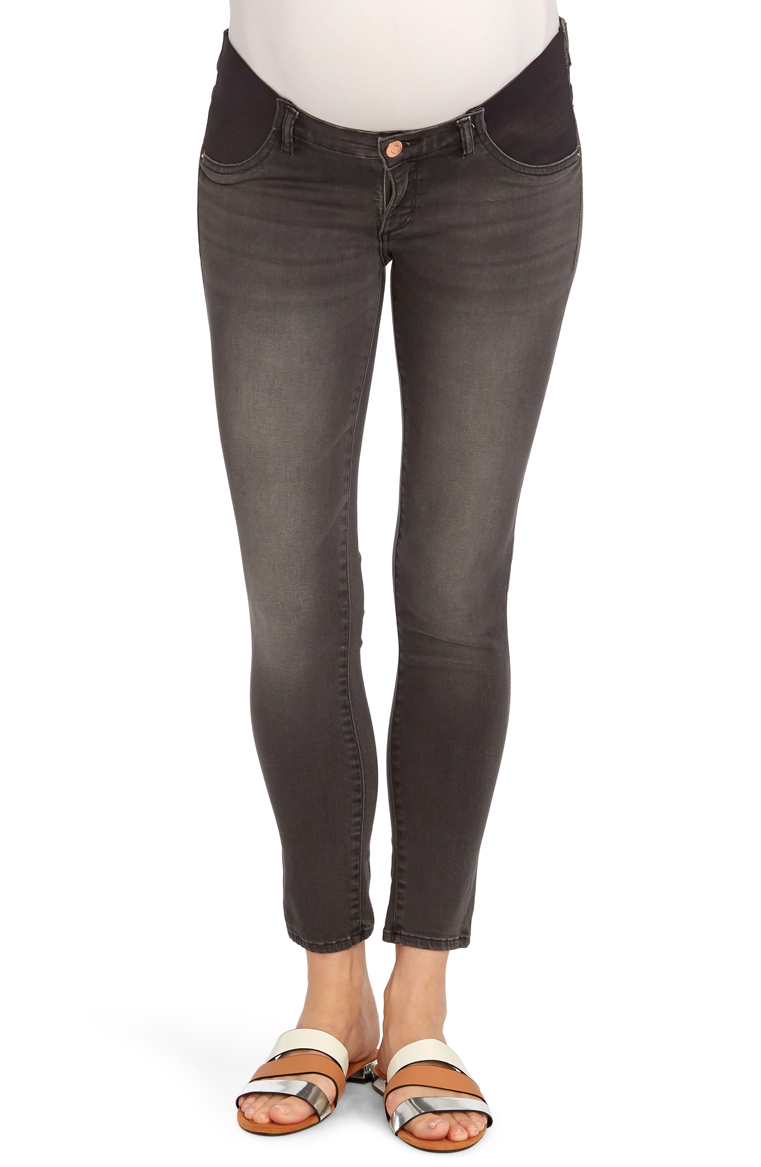 Rosie Pope x DL1961 Ankle Skinny Maternity Jeans (Wickham)