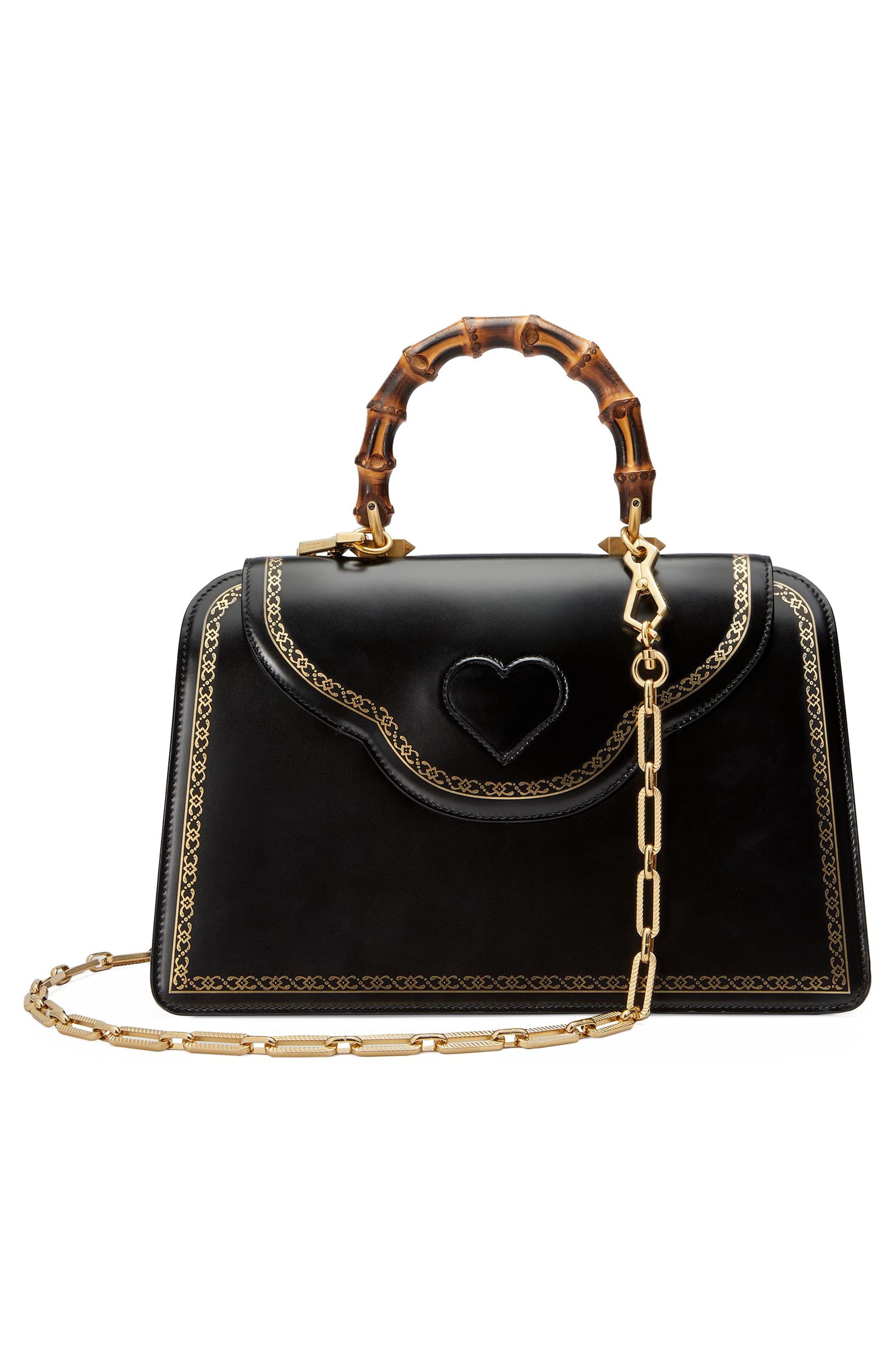 Alternate Image 2  - Gucci Gatto Medium Top Handle Bag