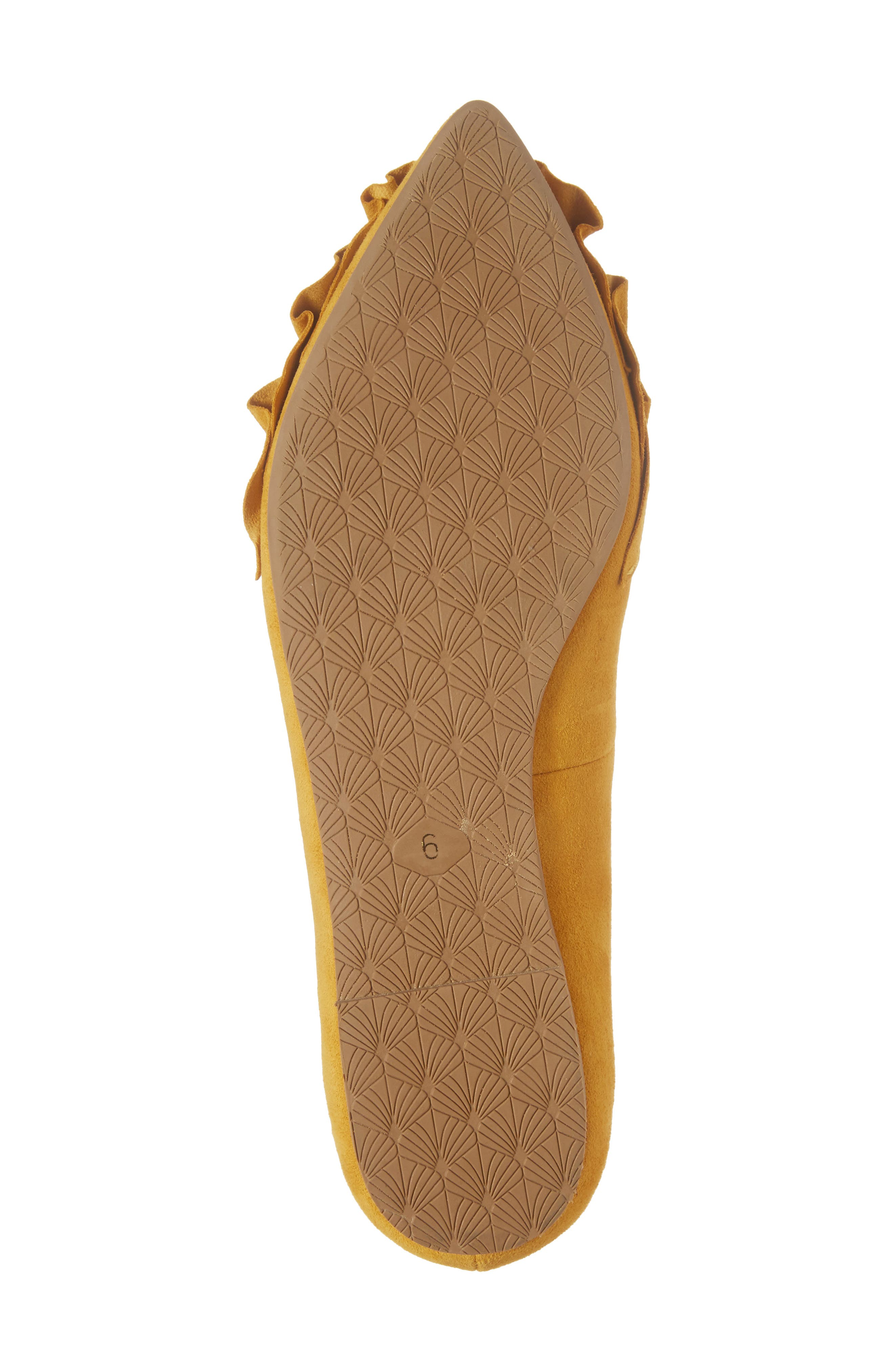 Alternate Image 6  - Seychelles Downstage Pointy Toe Flat (Women)