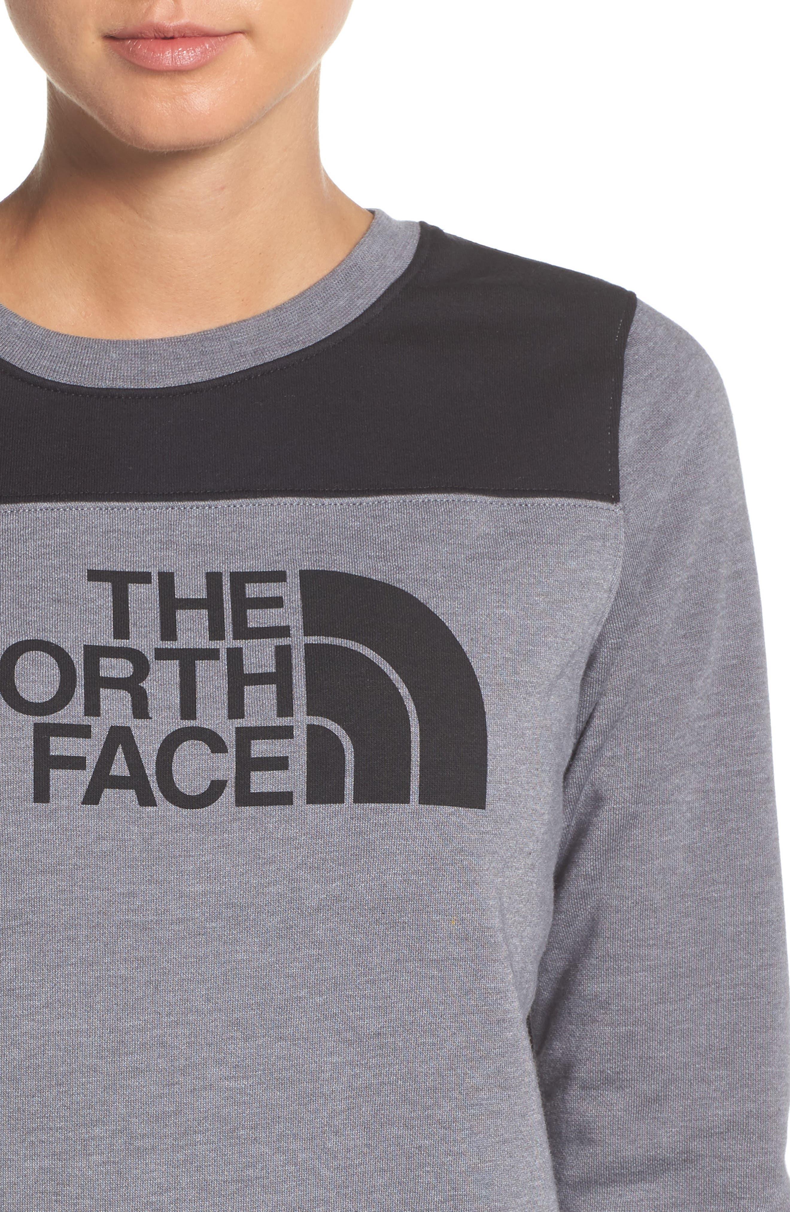 Alternate Image 4  - The North Face Half Dome Sweatshirt