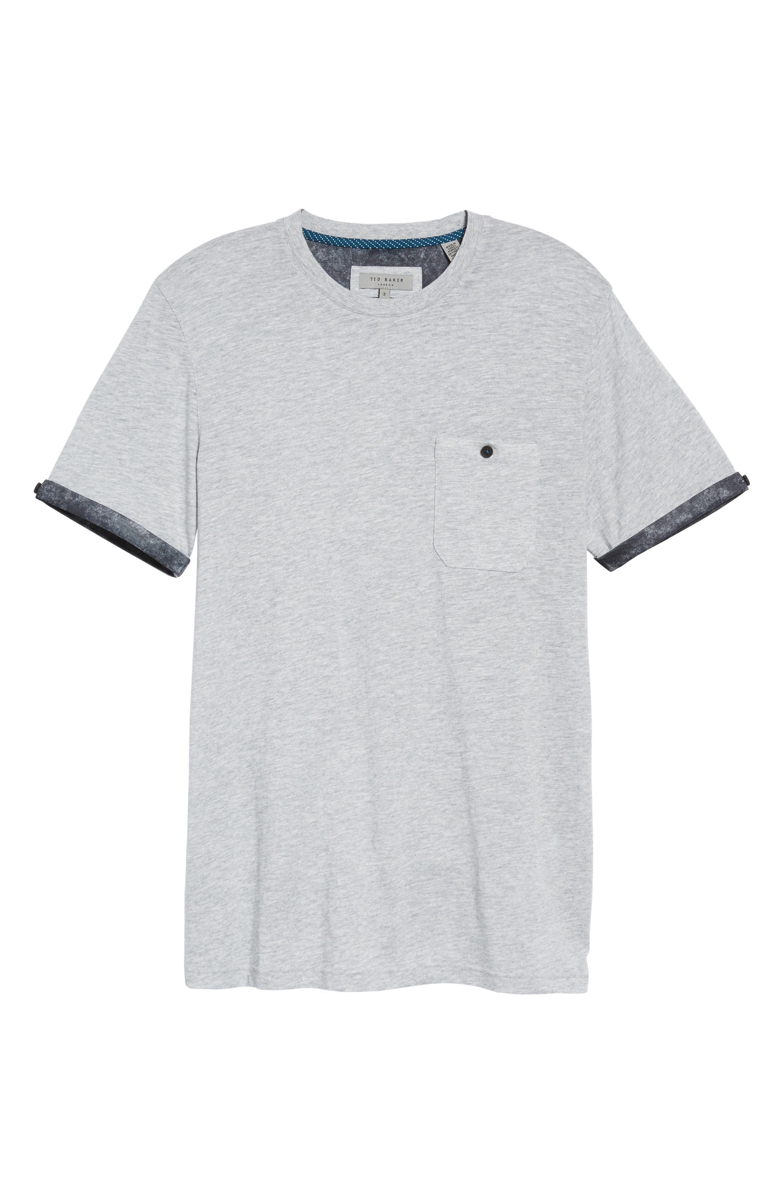 Alternate Image 5  - Ted Baker London Samsal Pocket T-Shirt